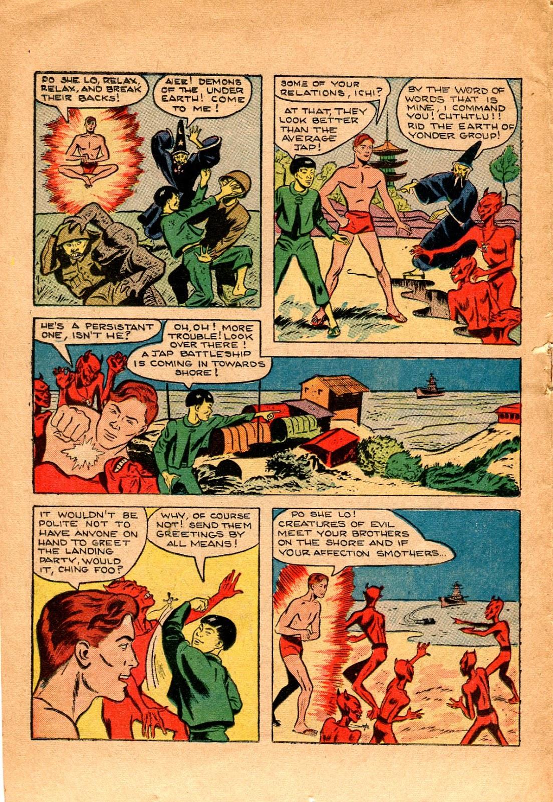 Read online Super-Magician Comics comic -  Issue #34 - 22