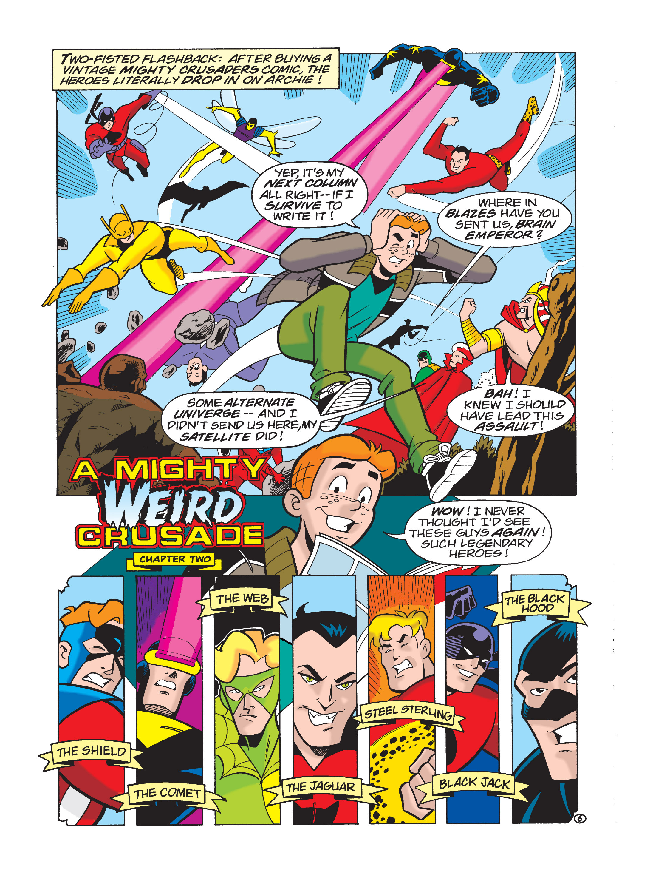 Read online Archie 75th Anniversary Digest comic -  Issue #1 - 122