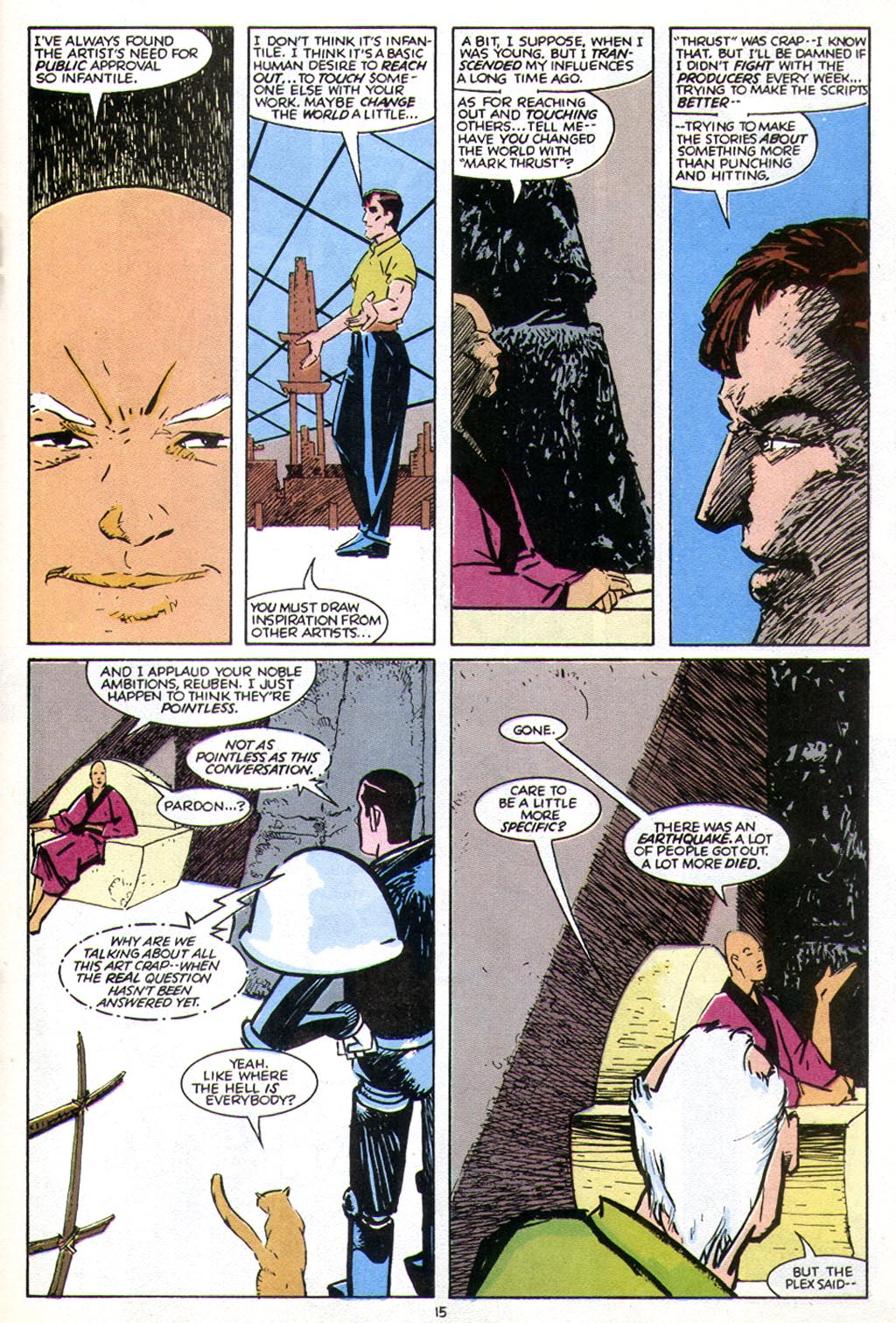 Read online American Flagg! comic -  Issue #43 - 19
