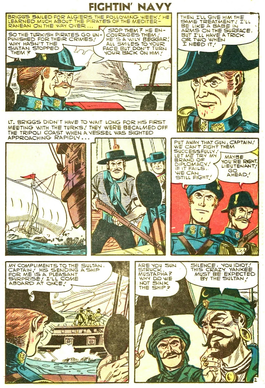 Read online Fightin' Navy comic -  Issue #78 - 25