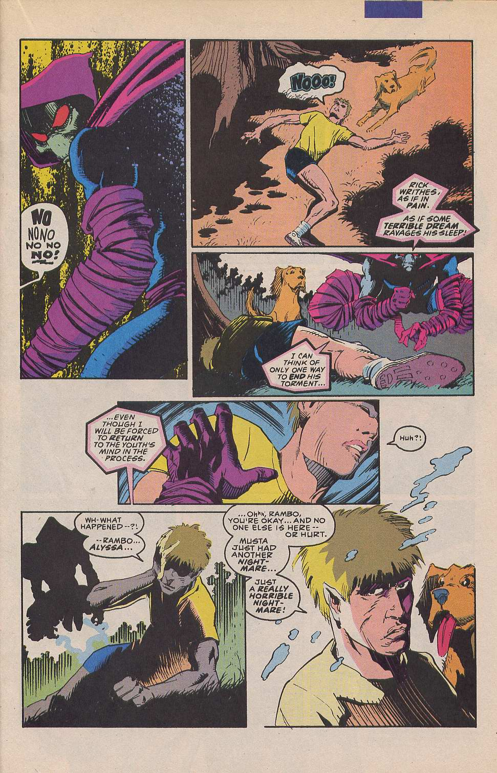 Read online Sleepwalker comic -  Issue #12 - 12