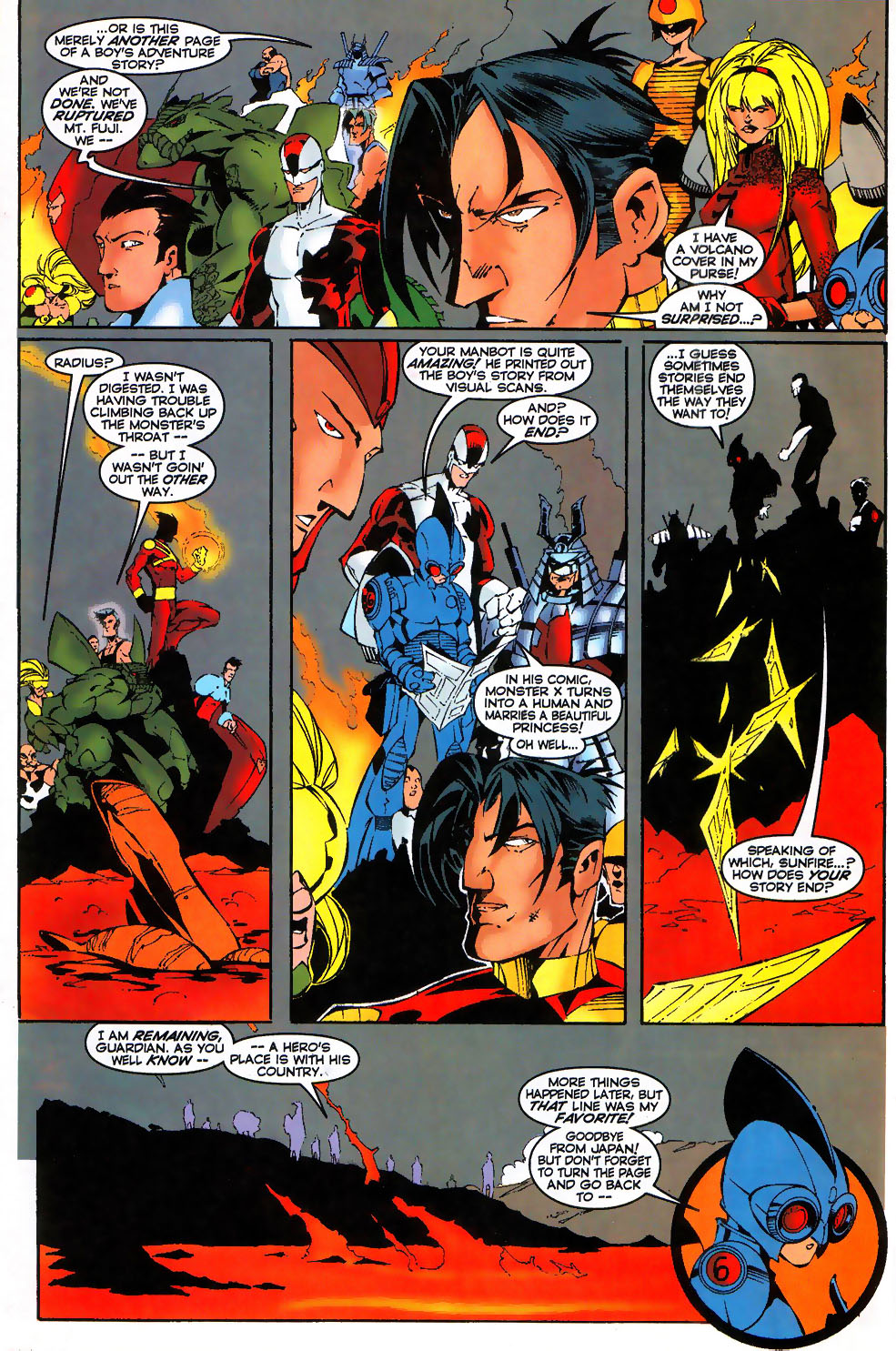 Read online Alpha Flight (1997) comic -  Issue #17 - 23