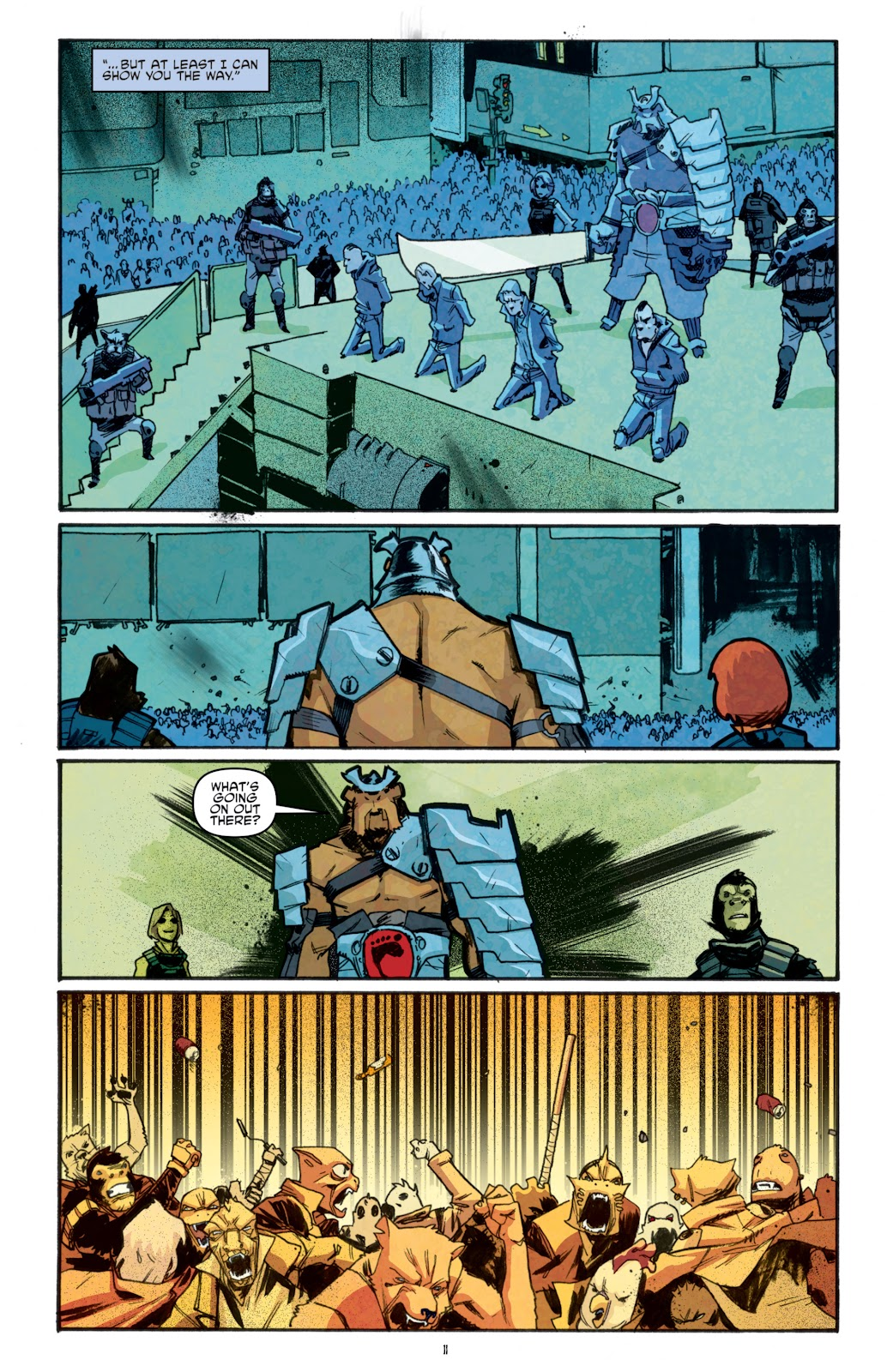Read online Teenage Mutant Ninja Turtles: The IDW Collection comic -  Issue # TPB 5 (Part 1) - 86