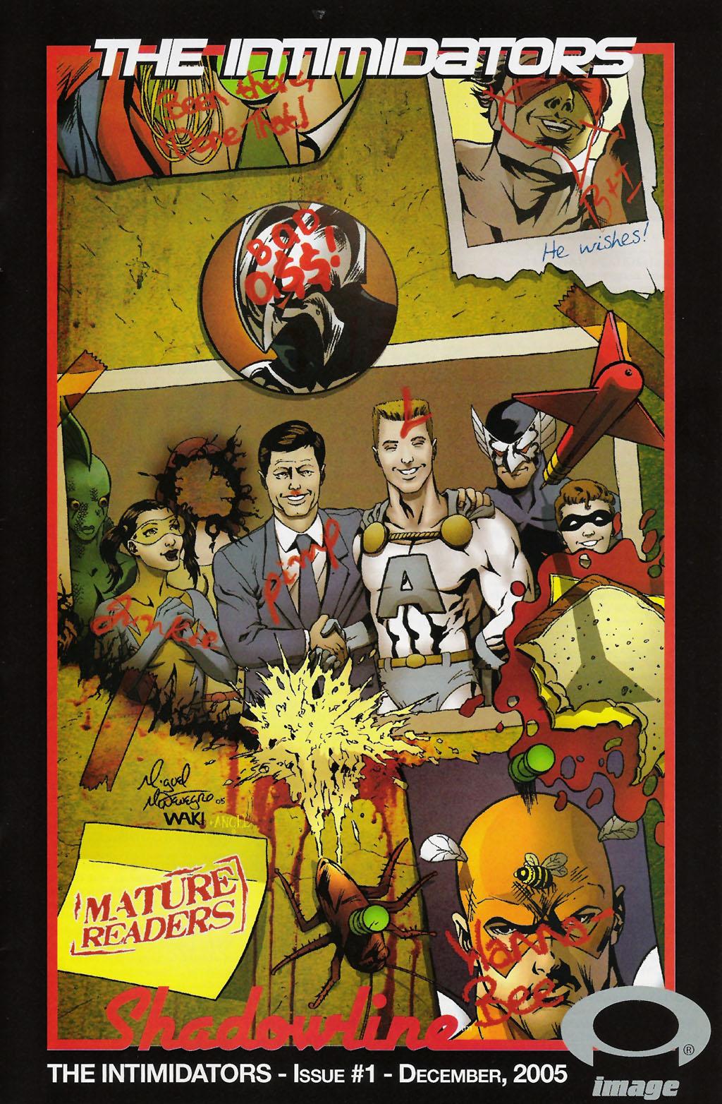 Read online ShadowHawk (2005) comic -  Issue #7 - 28