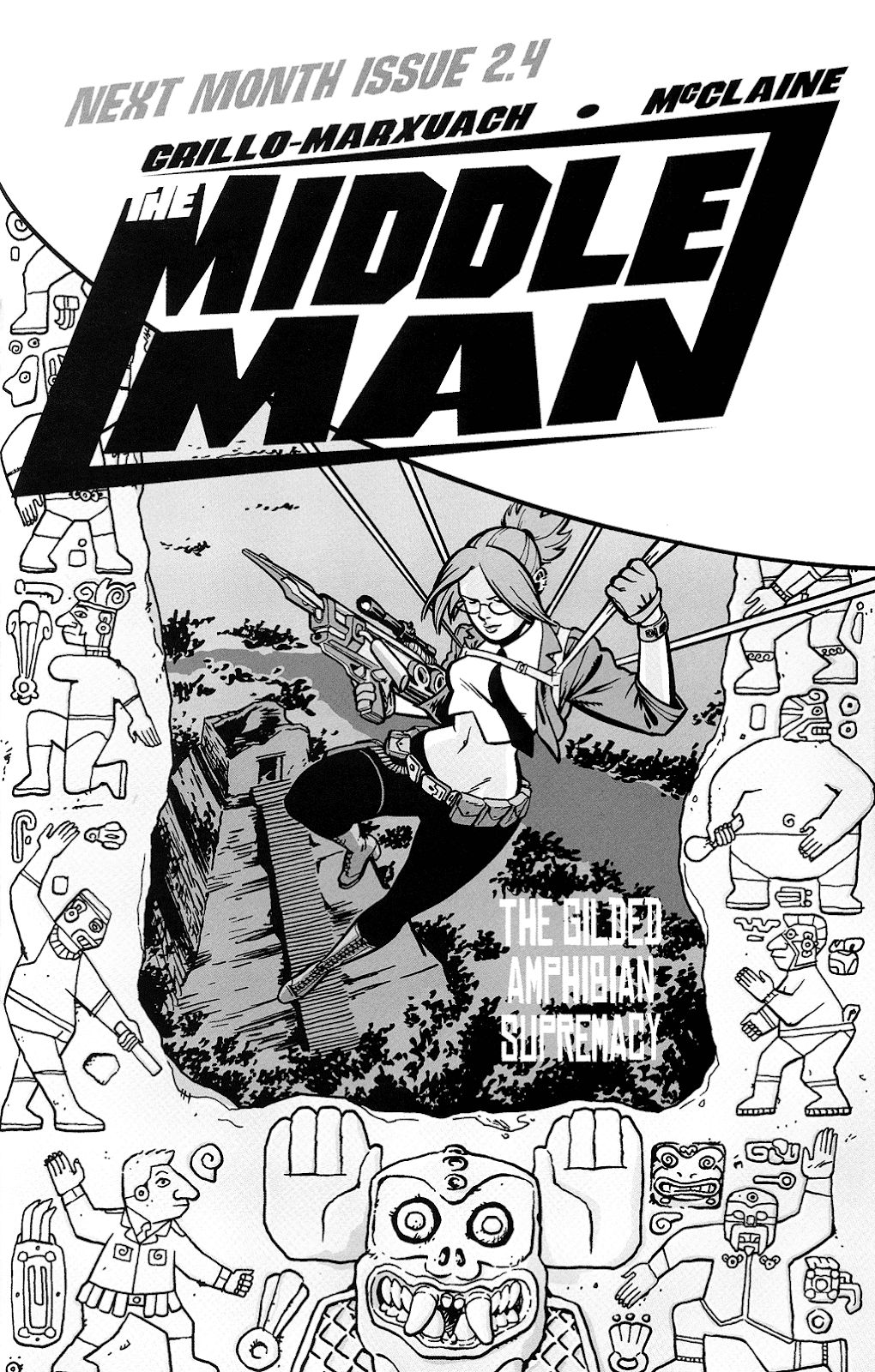 Read online The Middleman (2006) comic -  Issue #3 - 25