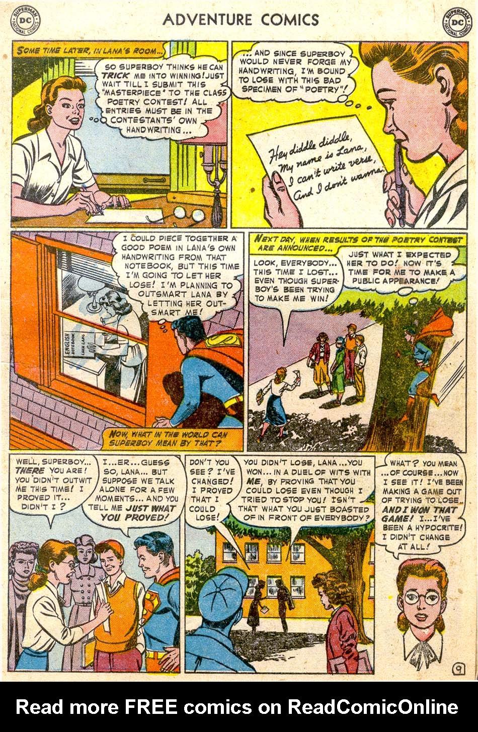 Read online Adventure Comics (1938) comic -  Issue #174 - 11