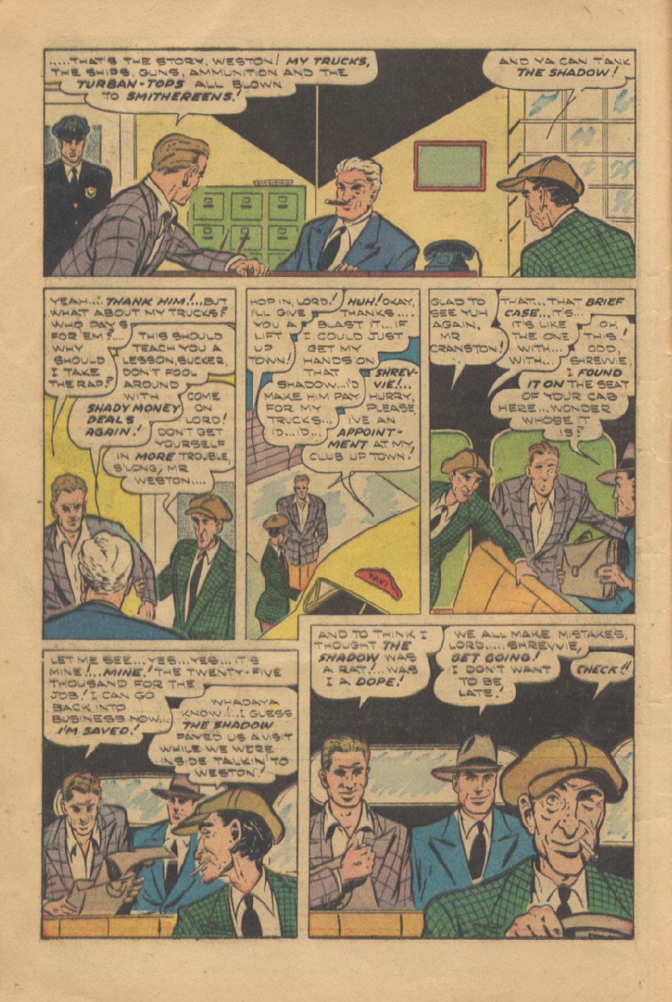 Read online Shadow Comics comic -  Issue #95 - 16