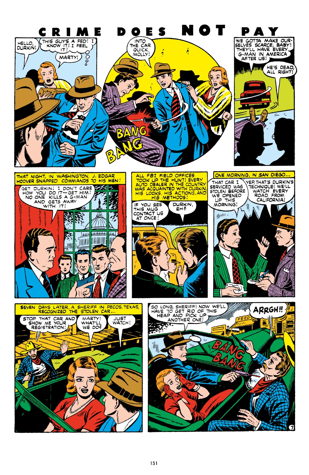 Read online Crime Does Not Pay Archives comic -  Issue # TPB 8 (Part 2) - 52