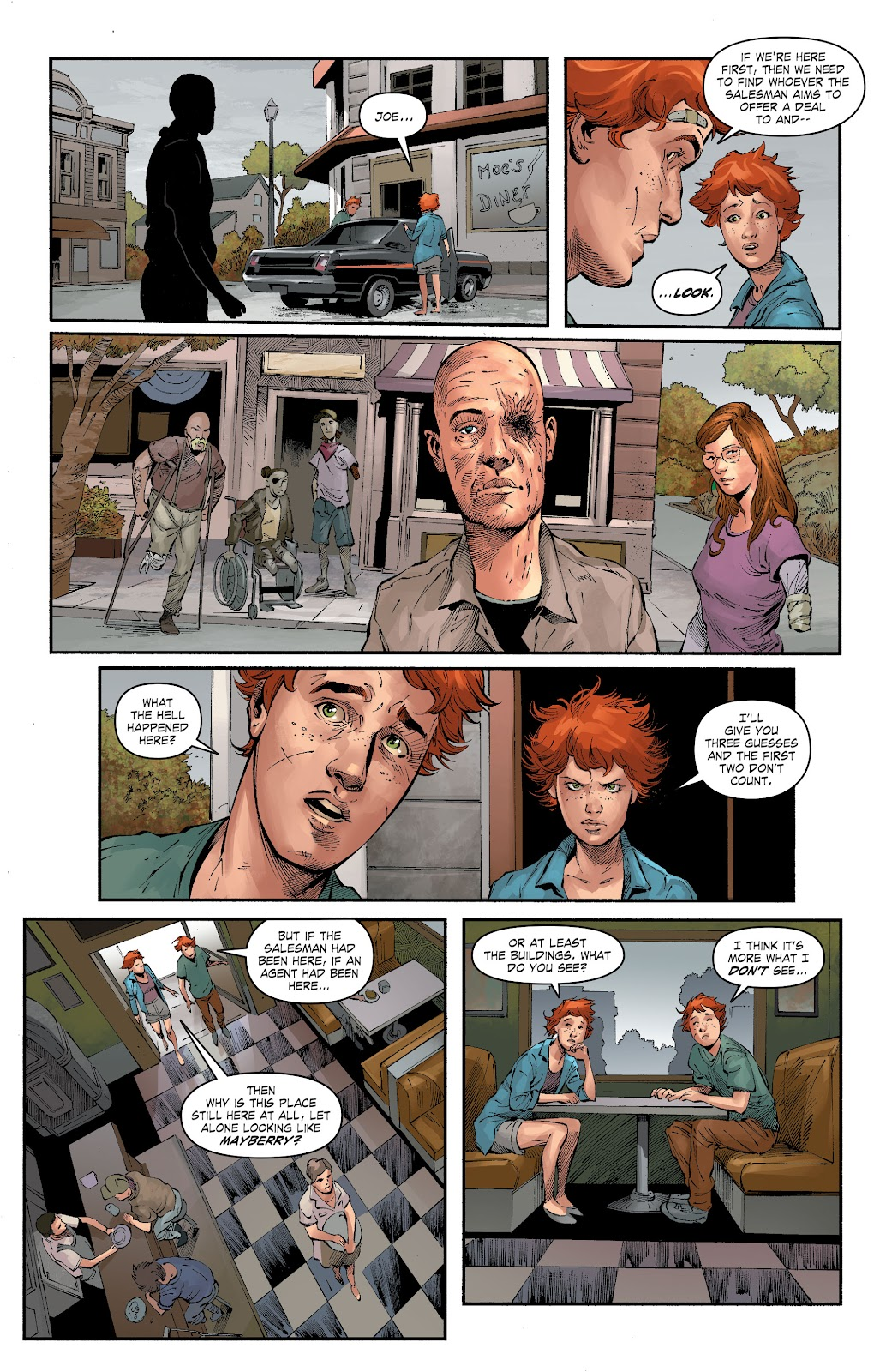 Read online The Curse of Brimstone: Ashes comic -  Issue # TPB (Part 1) - 37