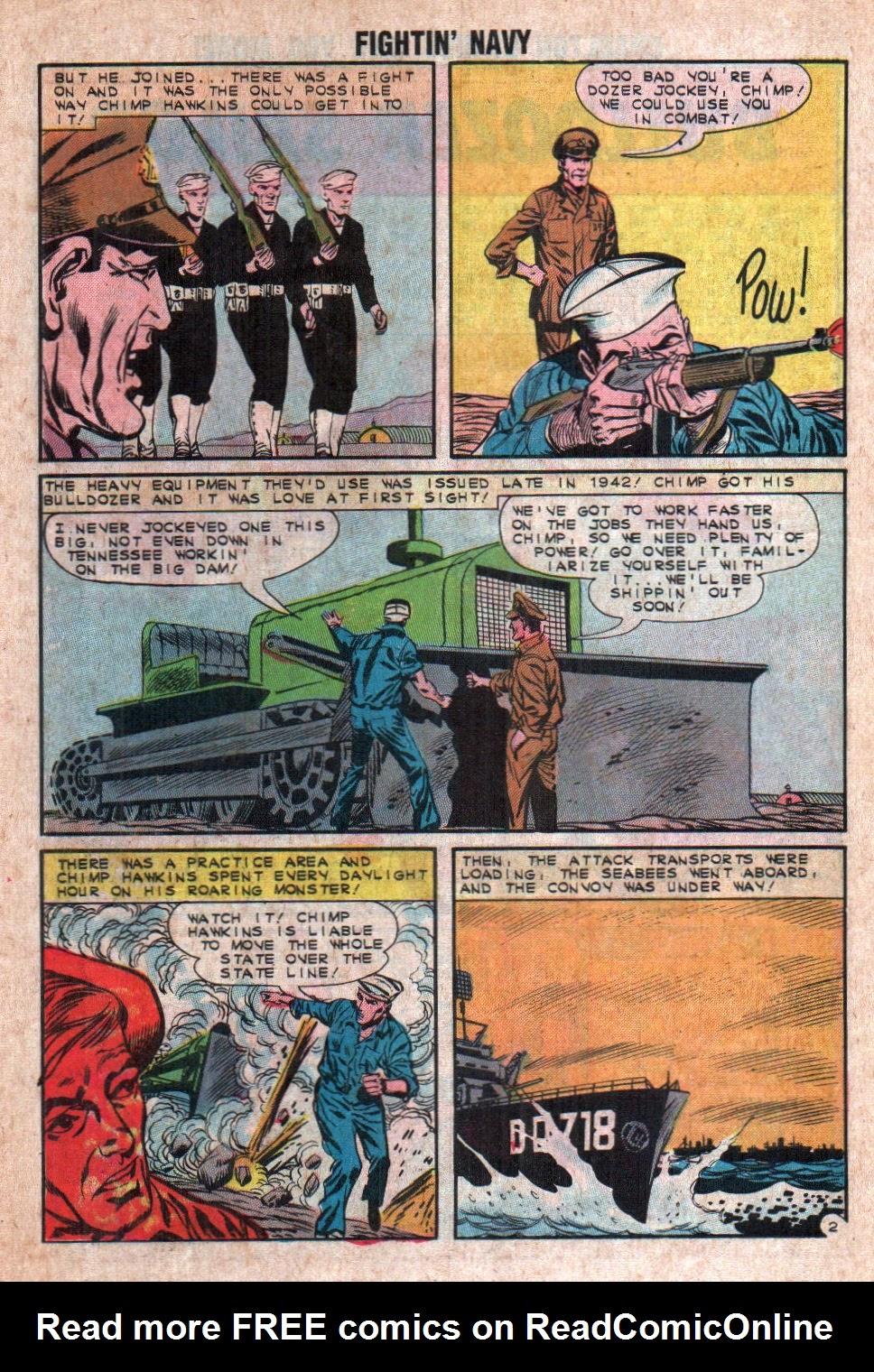 Read online Fightin' Navy comic -  Issue #108 - 26