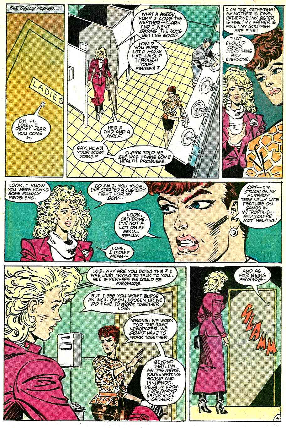 Read online Adventures of Superman (1987) comic -  Issue #431 - 7