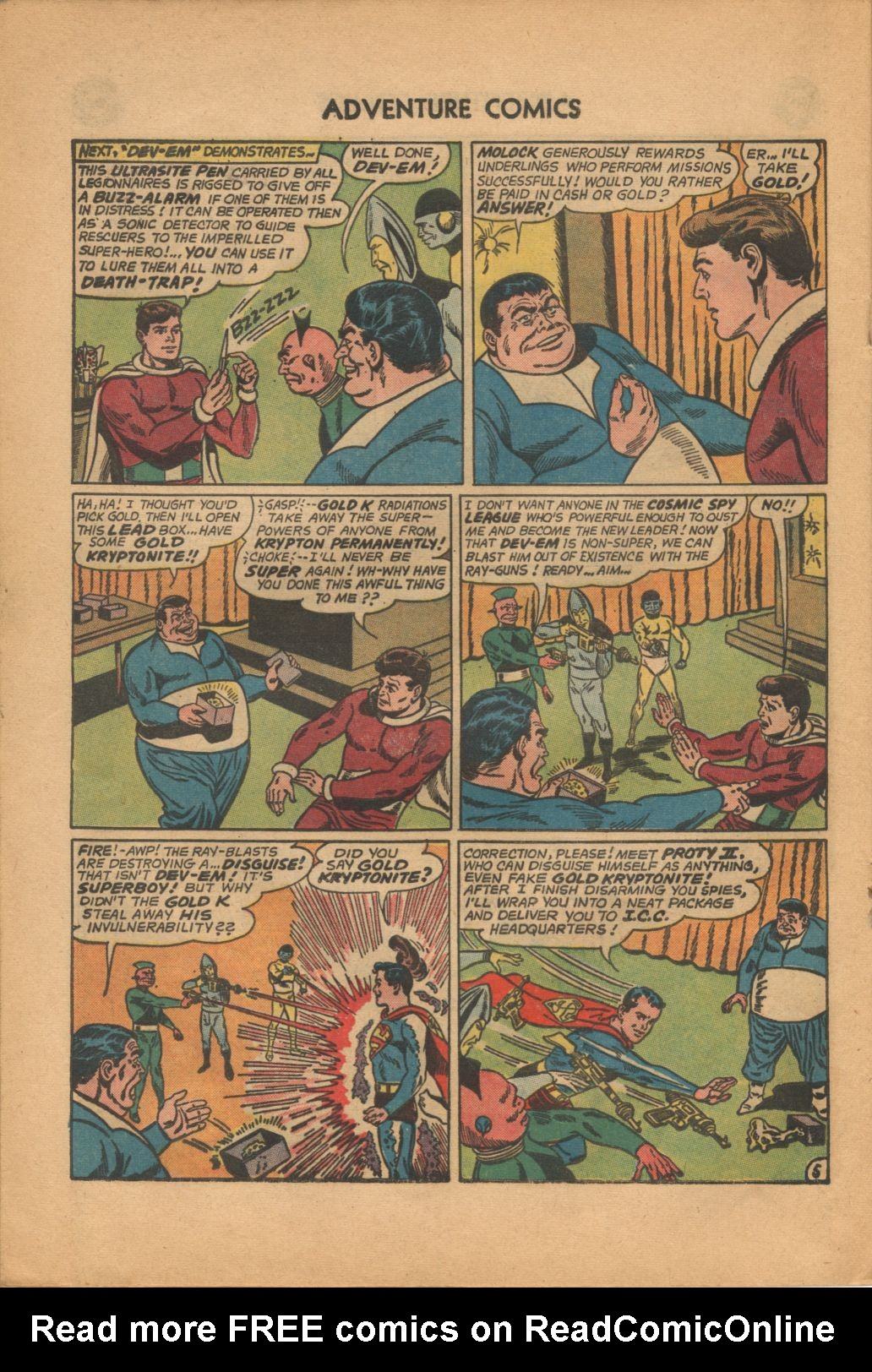 Read online Adventure Comics (1938) comic -  Issue #320 - 20