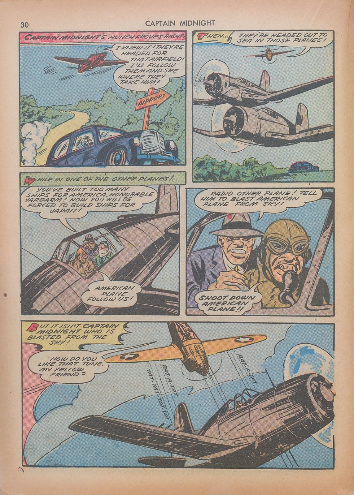Captain Midnight (1942) issue 7 - Page 30