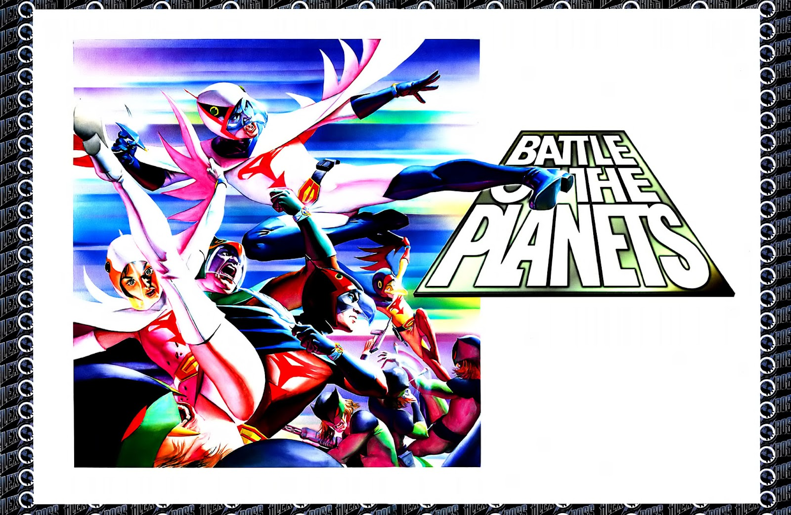 Read online Alex Ross: Battle of the Planets Artbook comic -  Issue # Full - 12
