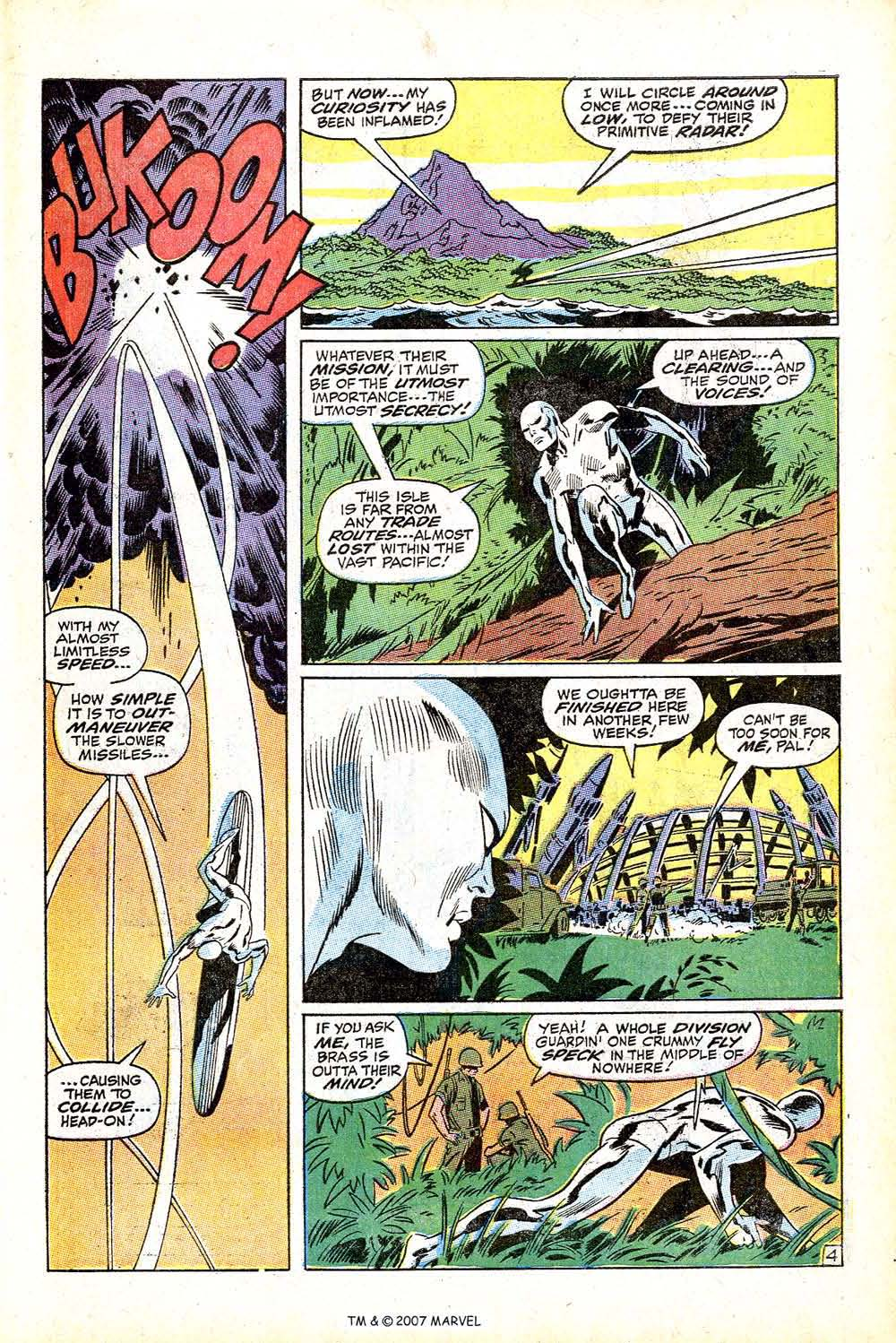 Read online Silver Surfer (1968) comic -  Issue #13 - 7
