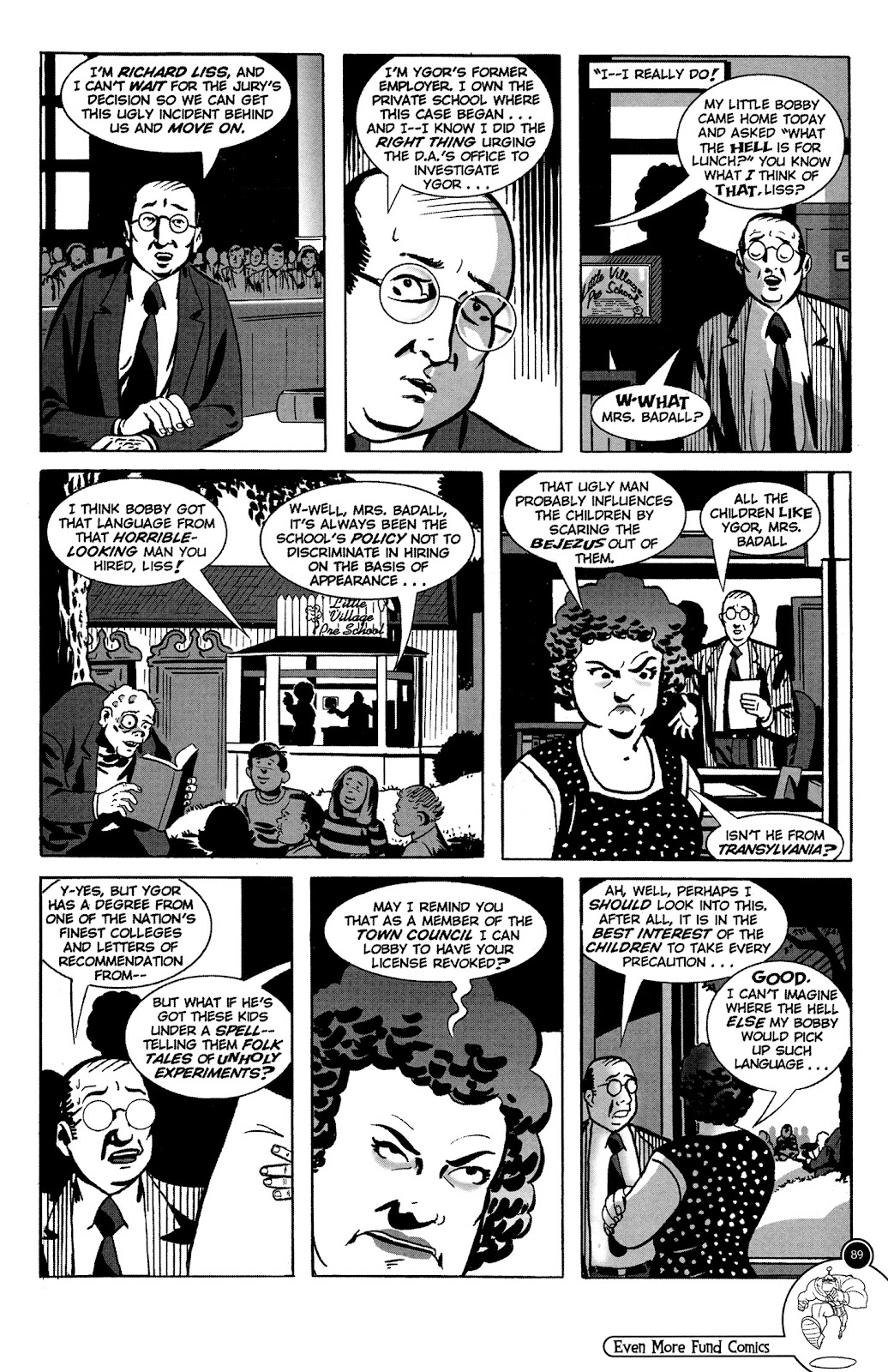 Read online Even More Fund Comics comic -  Issue # TPB (Part 1) - 89