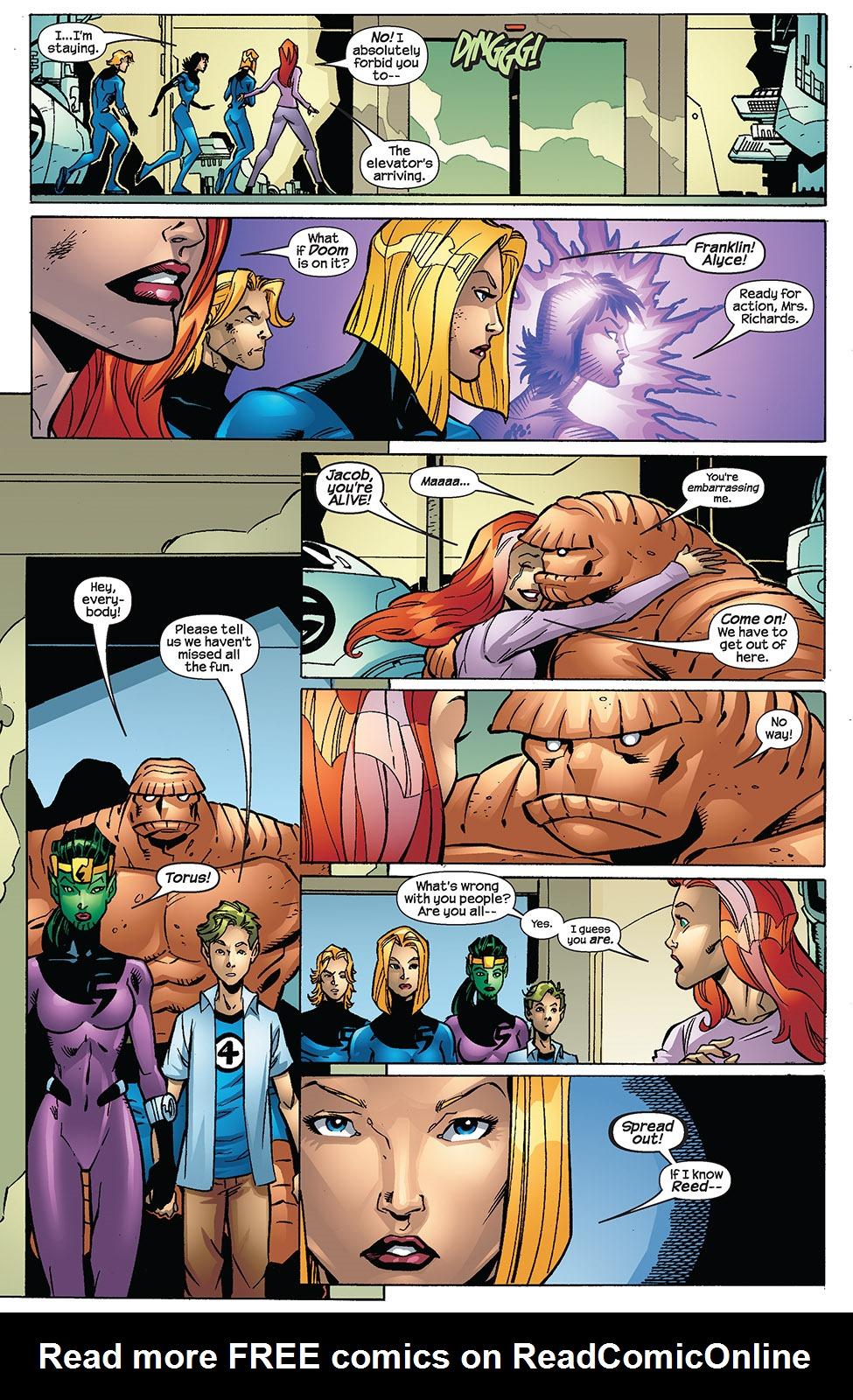 Read online Fantastic Five (2007) comic -  Issue #3 - 7