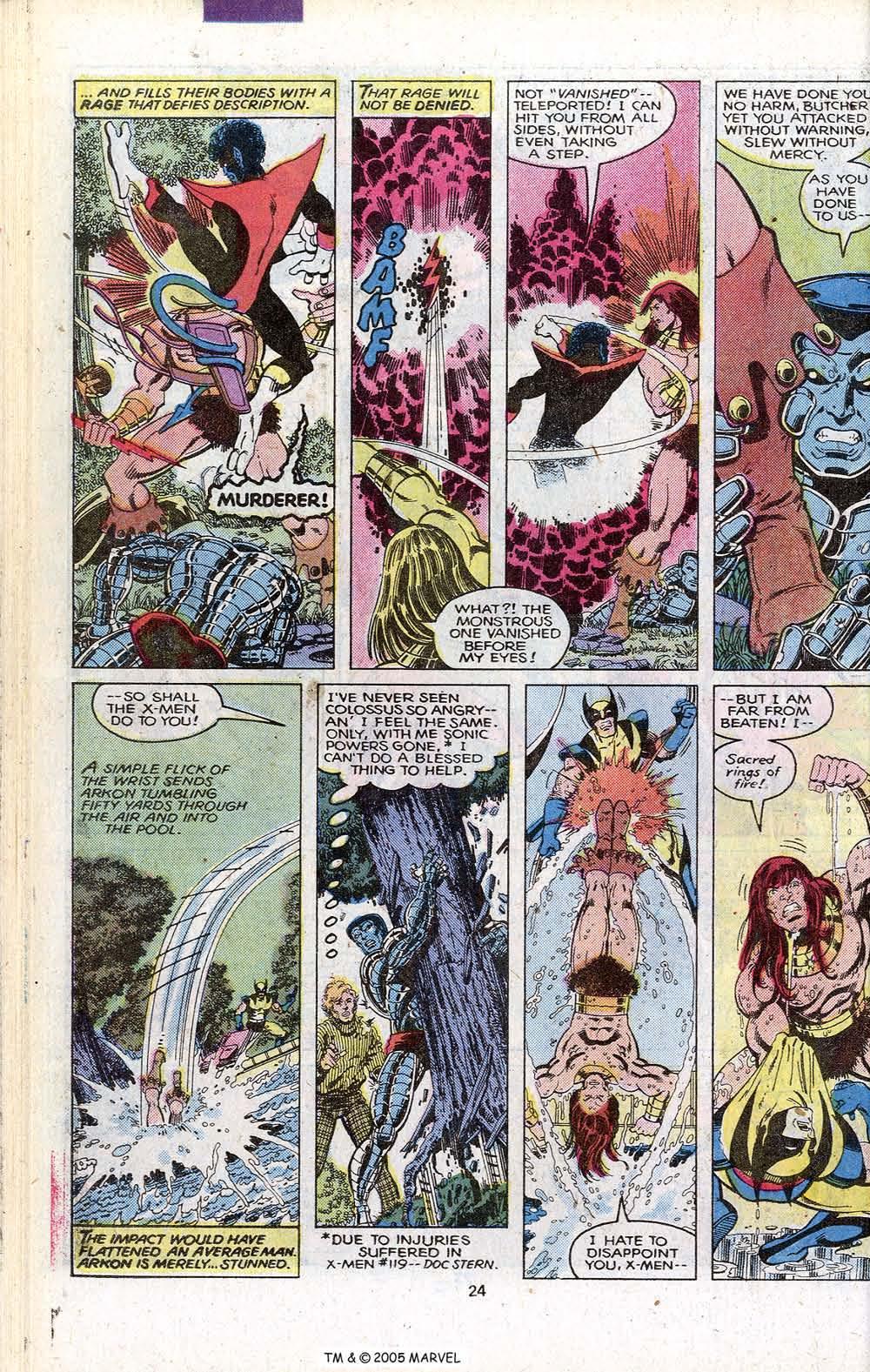 Read online Uncanny X-Men (1963) comic -  Issue # _Annual 3 - 26