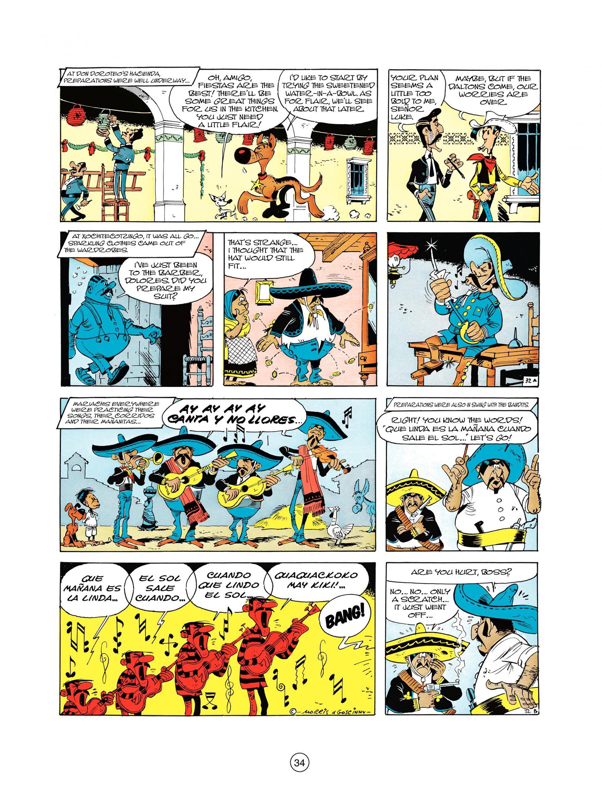 Read online A Lucky Luke Adventure comic -  Issue #10 - 34