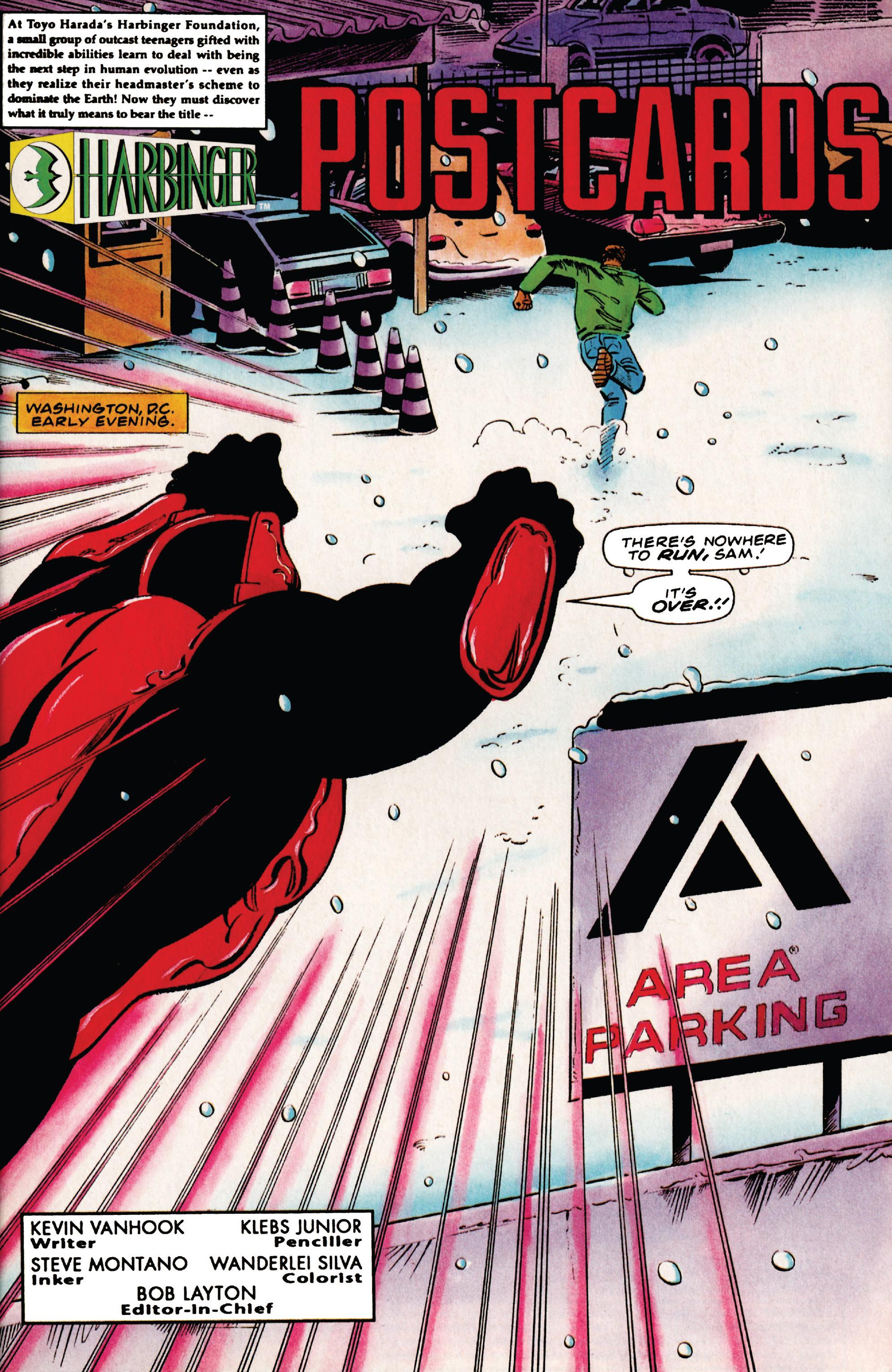 Read online Harbinger (1992) comic -  Issue #41 - 2