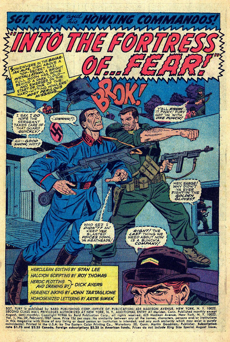 Read online Sgt. Fury comic -  Issue #39 - 3
