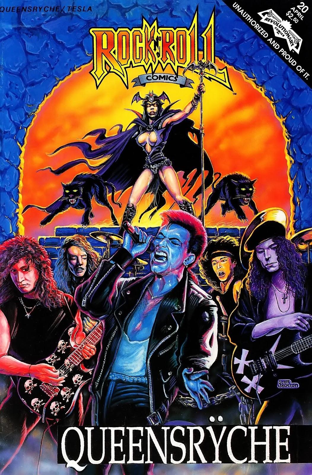 Rock N Roll Comics 20 Page 1