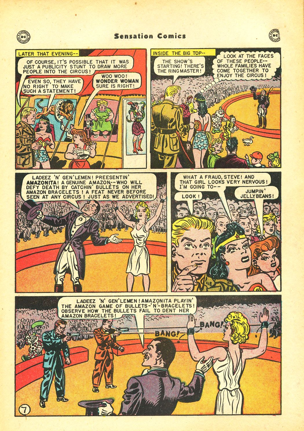 Read online Sensation (Mystery) Comics comic -  Issue #86 - 9