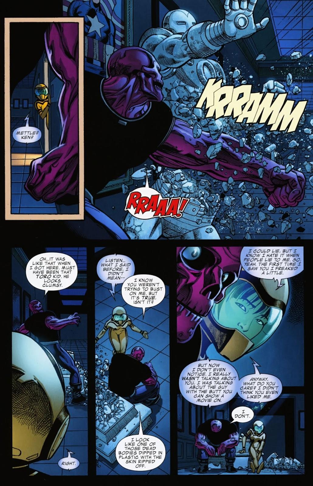 Comic Avengers Academy issue 13