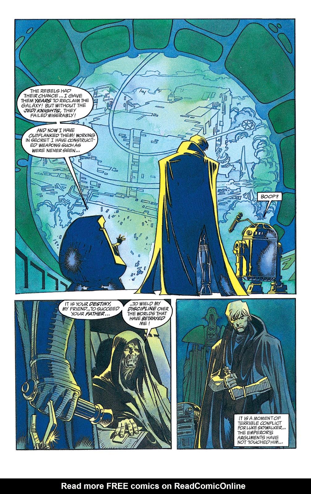 Read online Star Wars: Dark Empire Trilogy comic -  Issue # TPB (Part 1) - 50