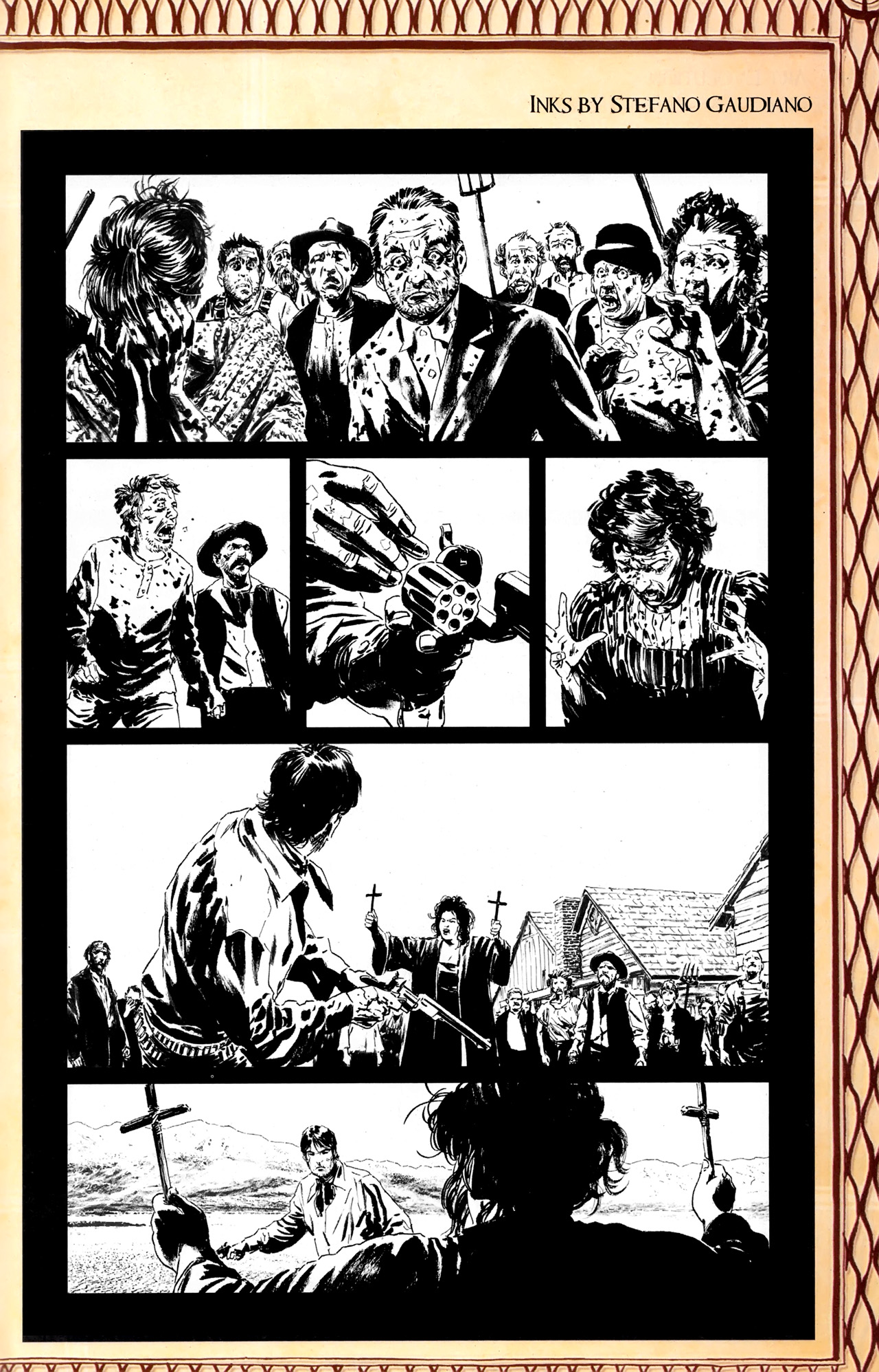 Read online Dark Tower: The Gunslinger - The Battle of Tull comic -  Issue #5 - 27