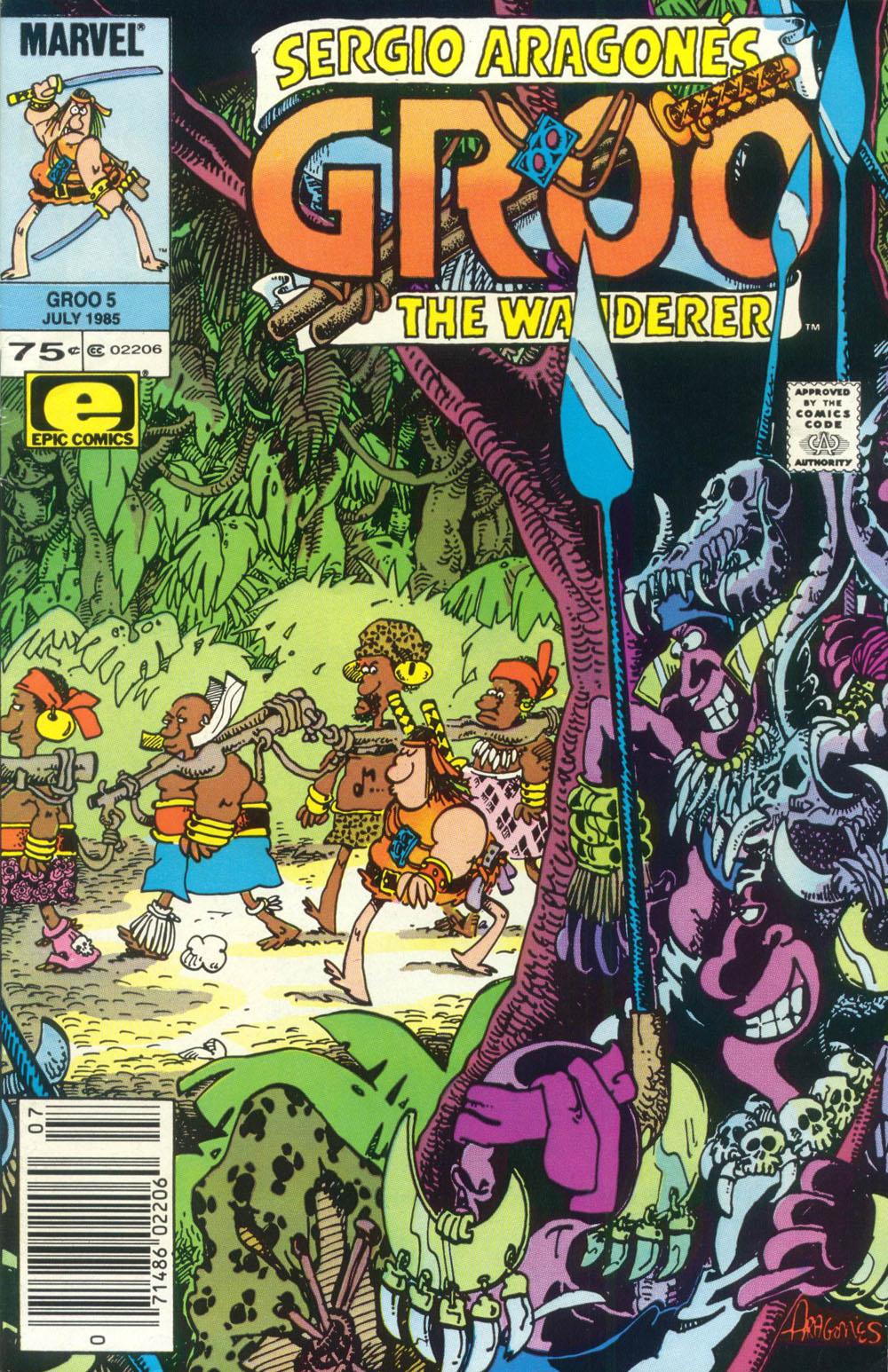 Read online Sergio Aragonés Groo the Wanderer comic -  Issue #5 - 1