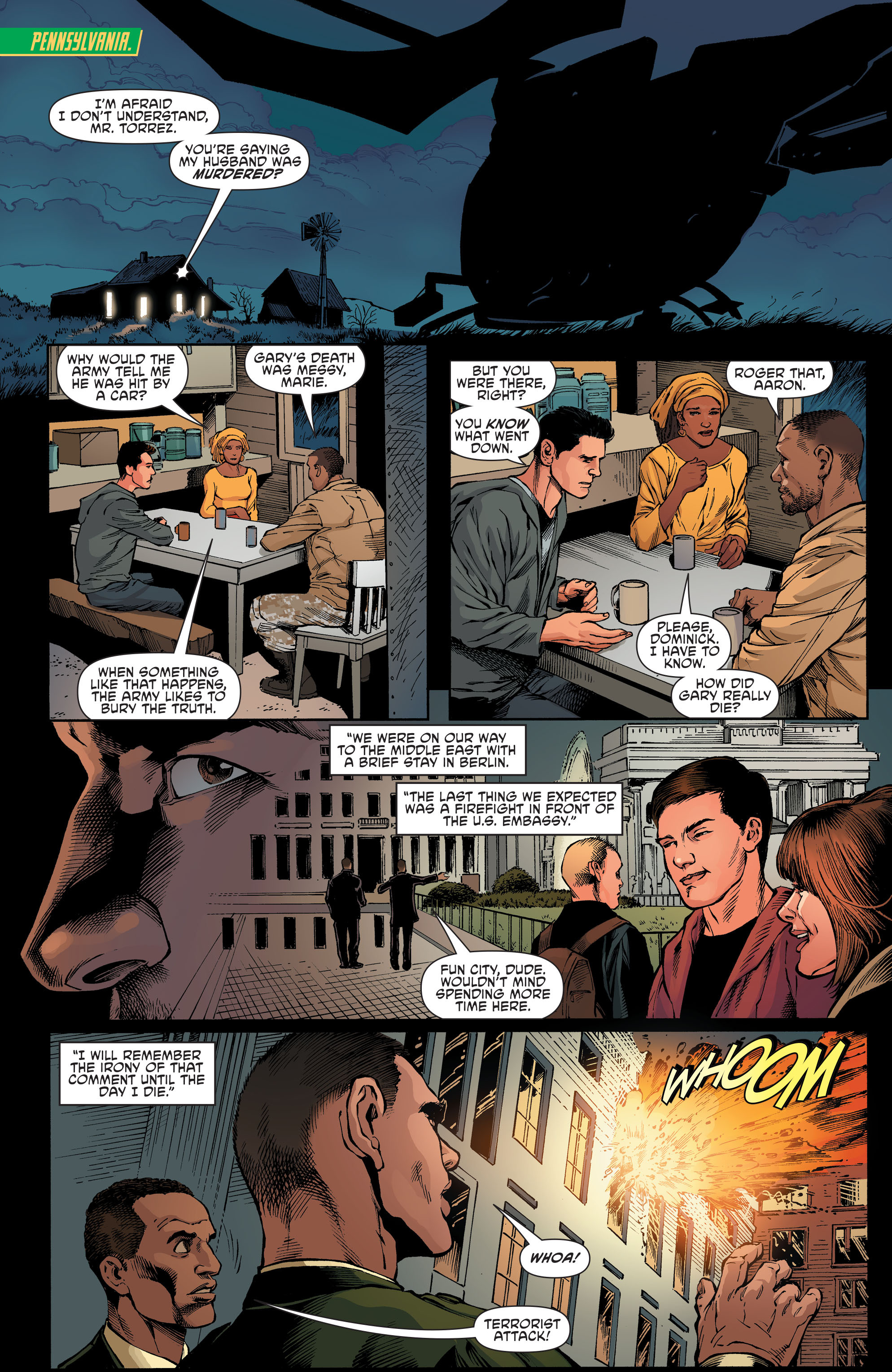 Read online Aquaman and the Others comic -  Issue #7 - 13