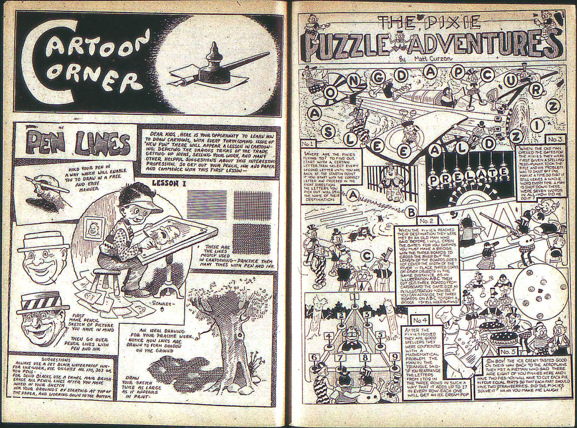 Read online Adventure Comics (1938) comic -  Issue #1 - 19