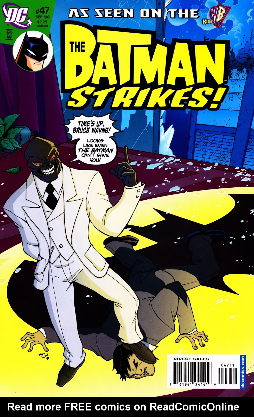 The Batman Strikes! issue 47 - Page 1
