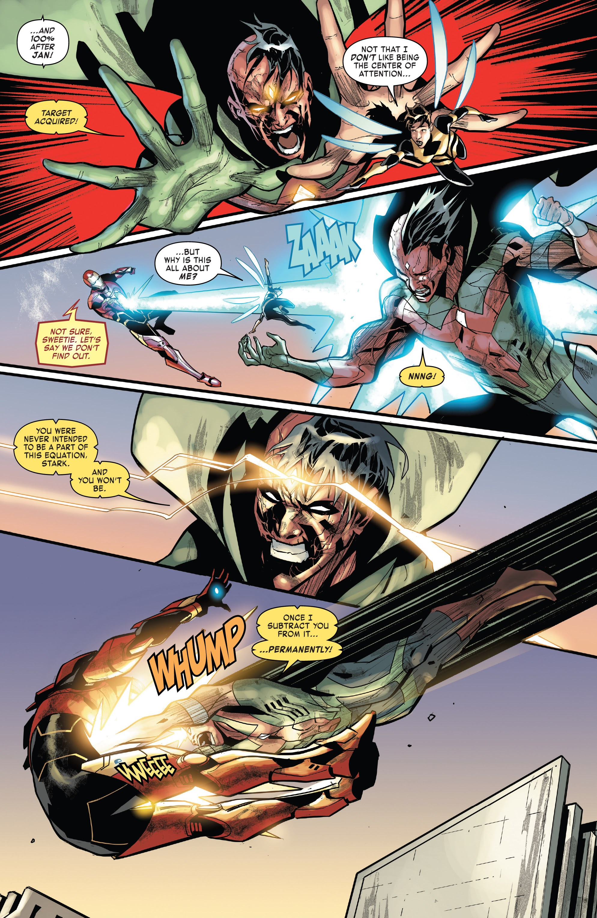 Read online Tony Stark: Iron Man comic -  Issue #15 - 15