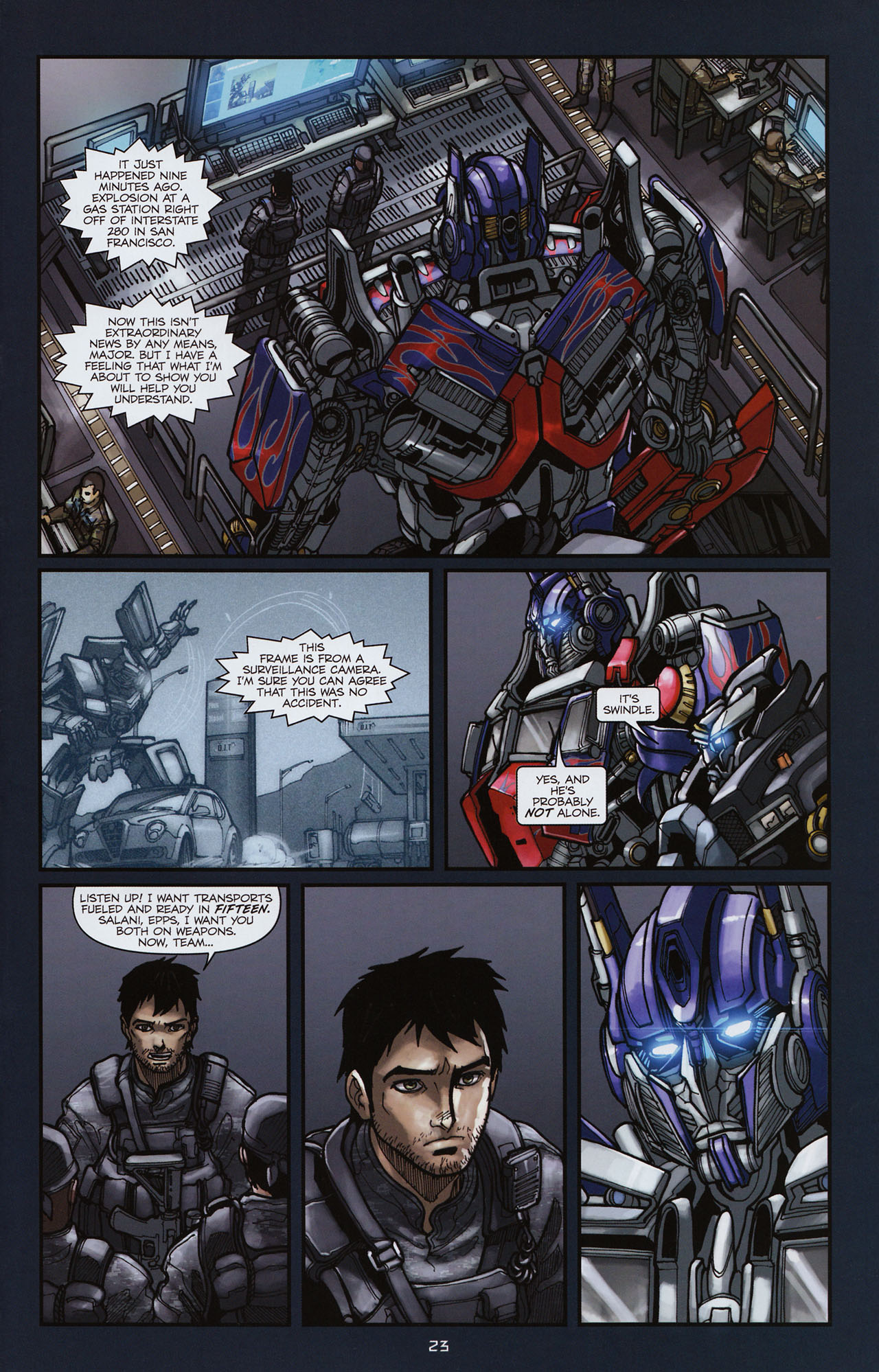 Read online Transformers: Alliance comic -  Issue #3 - 24