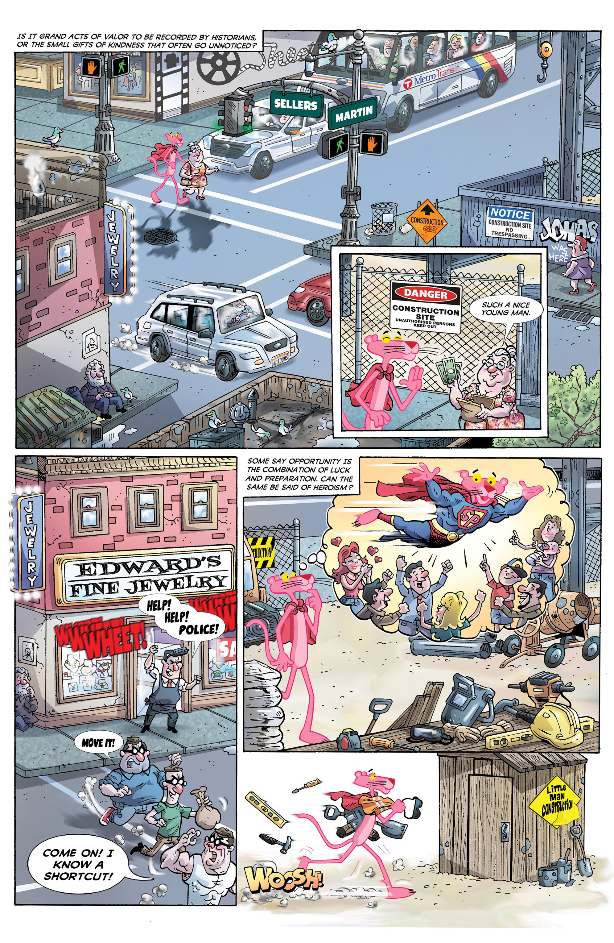 Read online Pink Panther Super-Pink Special comic -  Issue # Full - 4