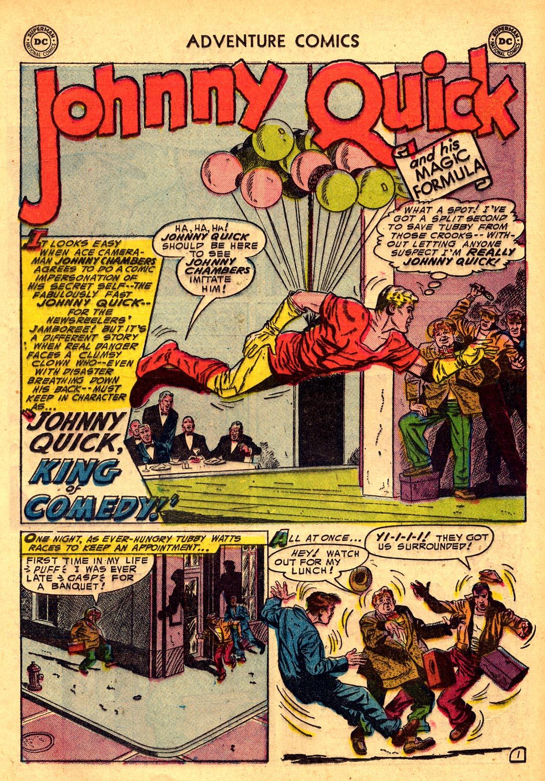 Read online Adventure Comics (1938) comic -  Issue #204 - 25