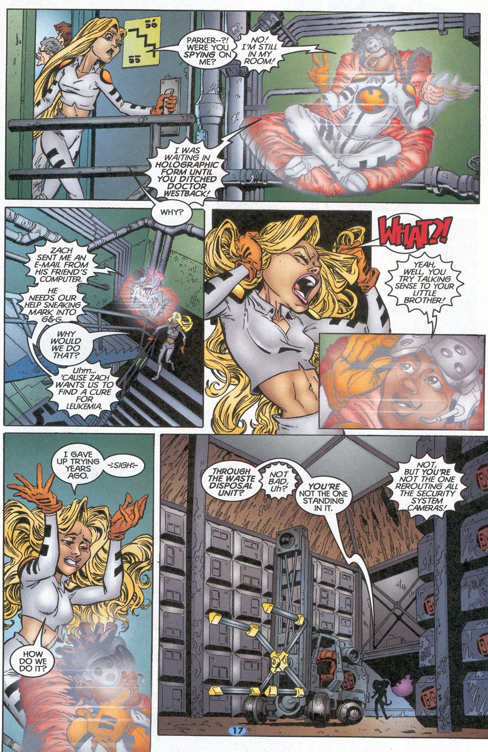 Read online Troublemakers comic -  Issue #10 - 14