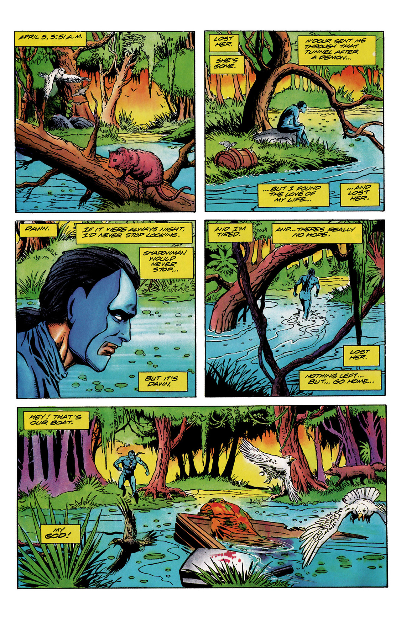 Read online Shadowman (1992) comic -  Issue #6 - 5