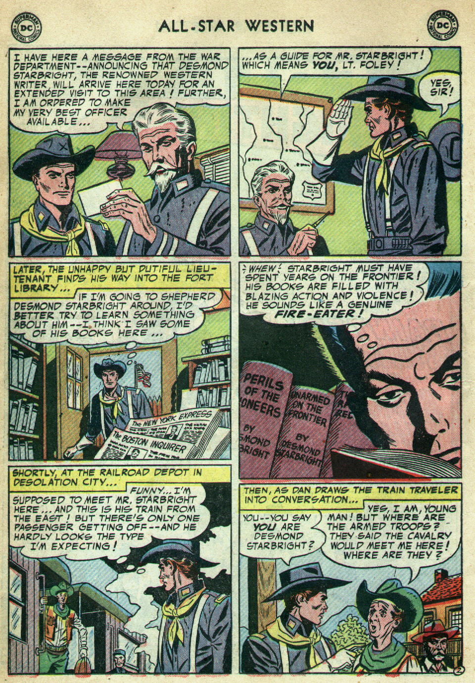 Read online All-Star Western (1951) comic -  Issue #79 - 22