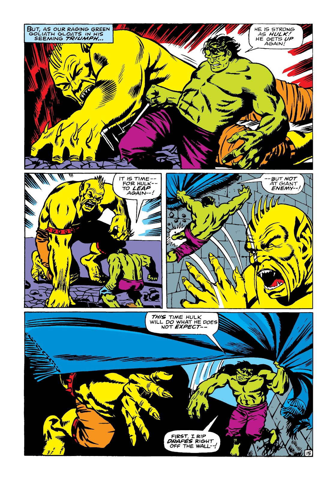 Read online Marvel Masterworks: The Incredible Hulk comic -  Issue # TPB 4 (Part 2) - 6