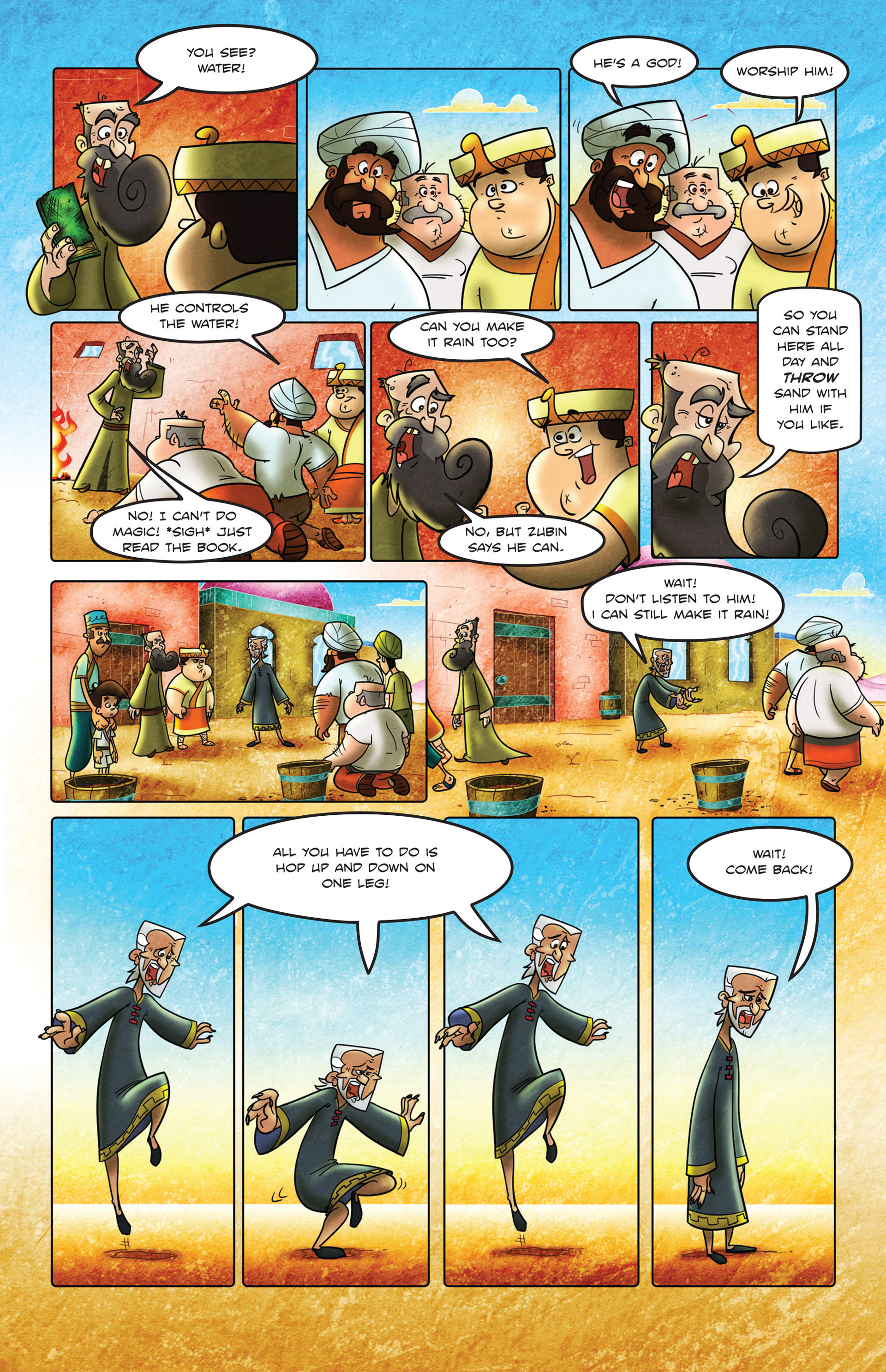 Read online 1001 Nights comic -  Issue #2 - 23