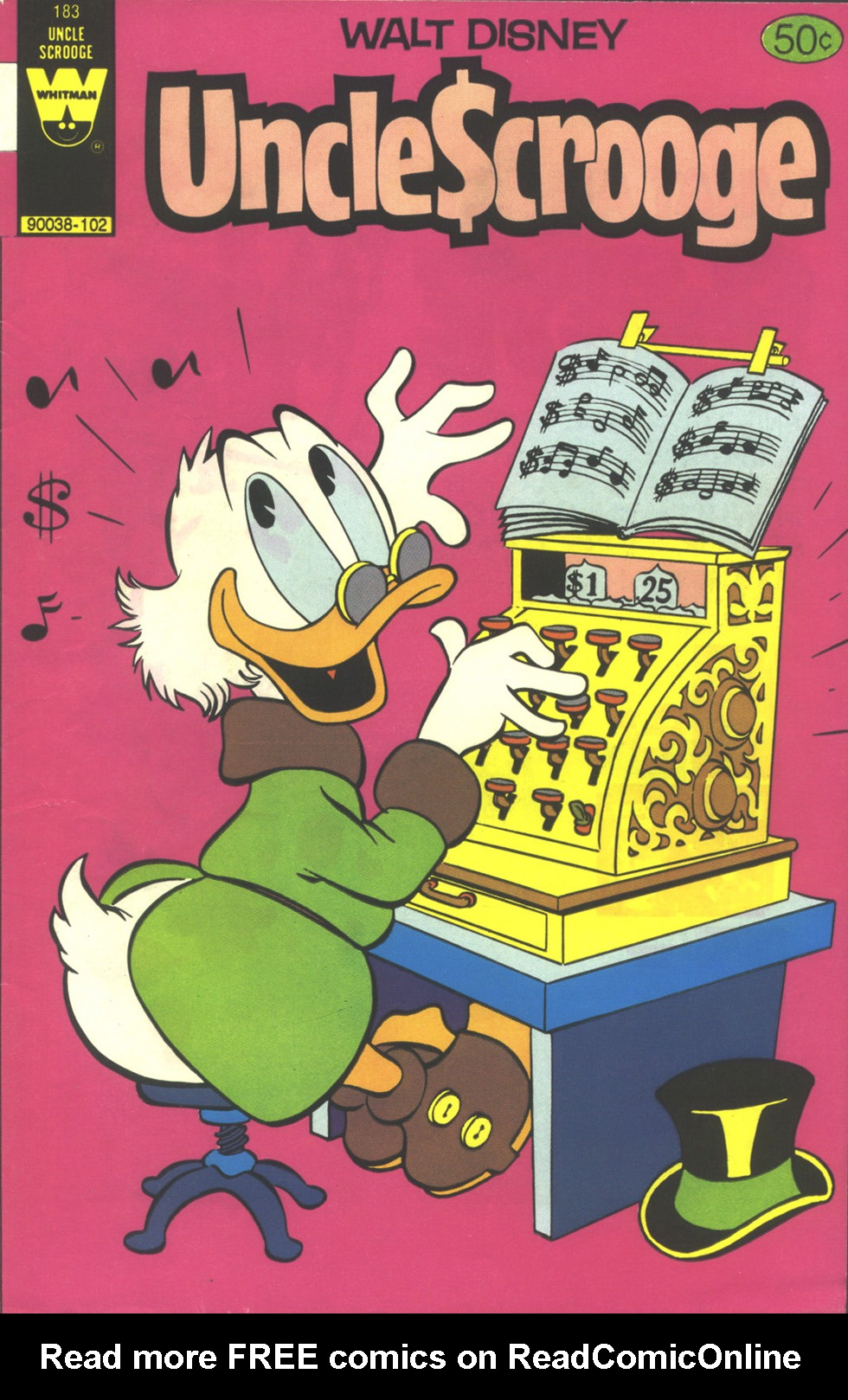 Read online Uncle Scrooge (1953) comic -  Issue #183 - 1