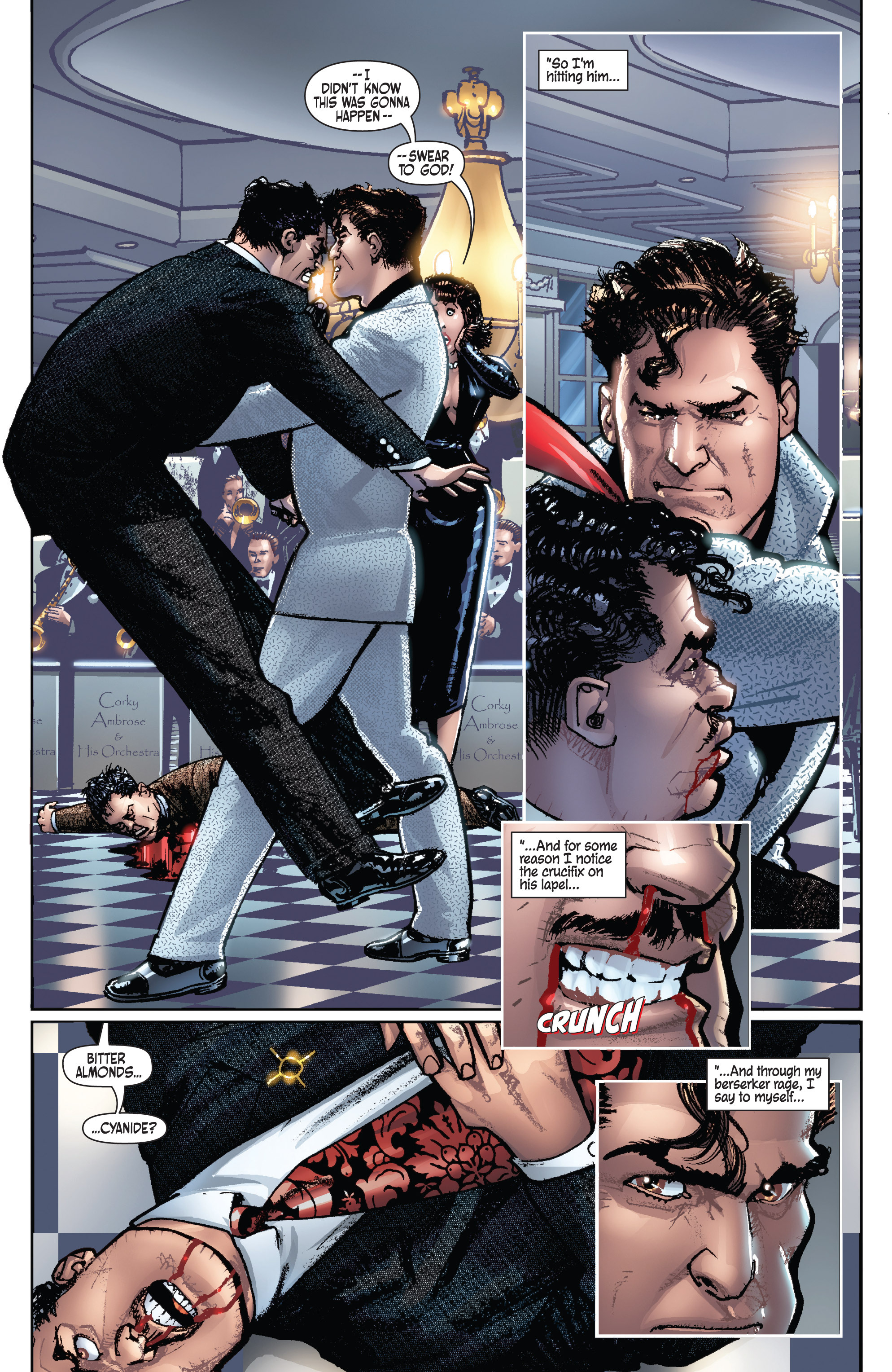 Read online Dominic Fortune comic -  Issue #1 - 22