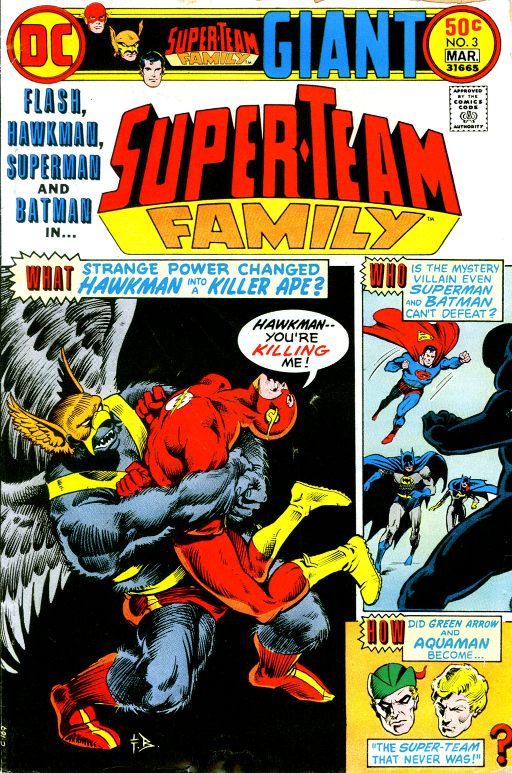 Super-Team Family issue 3 - Page 1