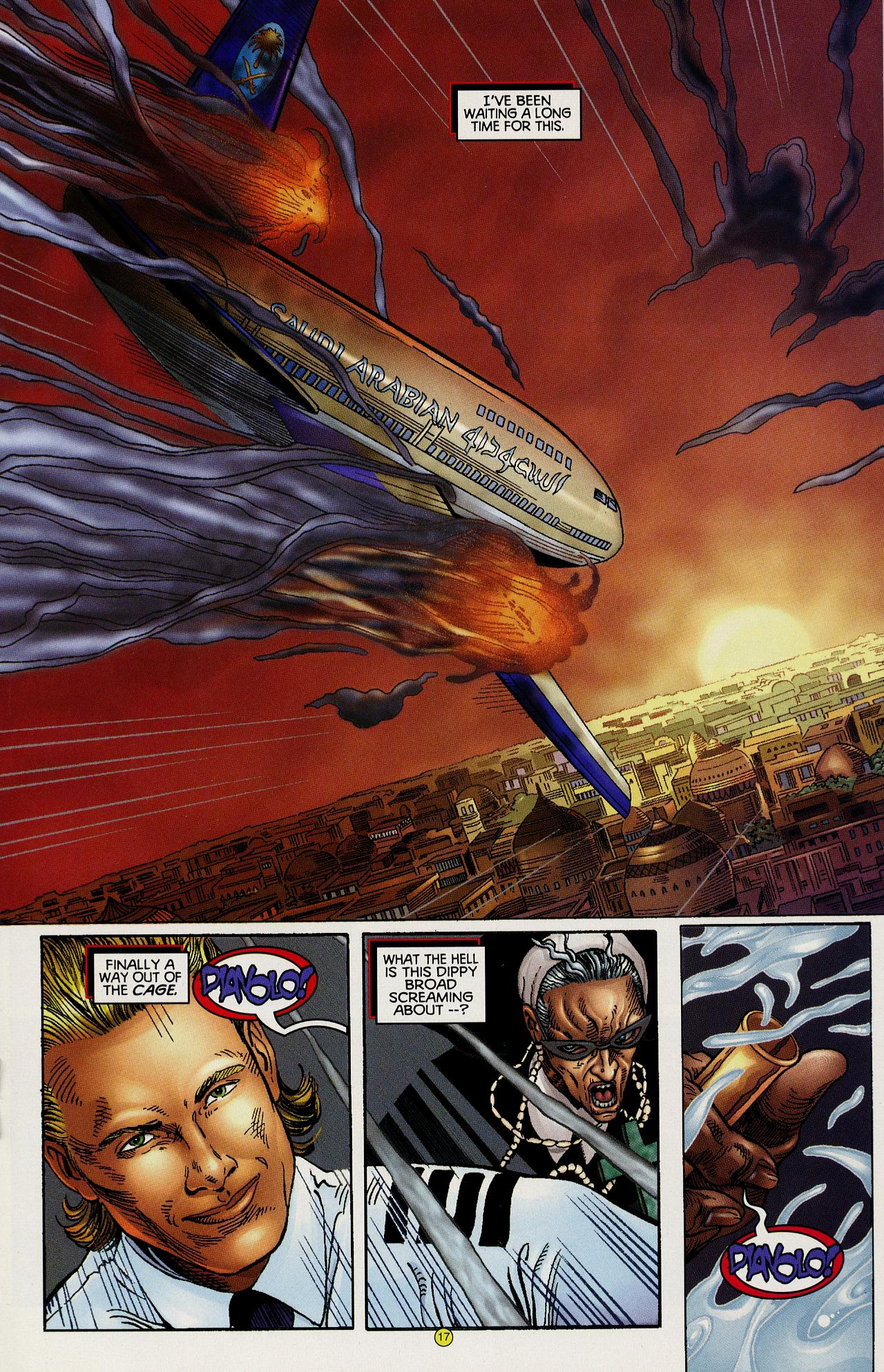 Read online Solar, Man of the Atom: Hell on Earth comic -  Issue #1 - 16