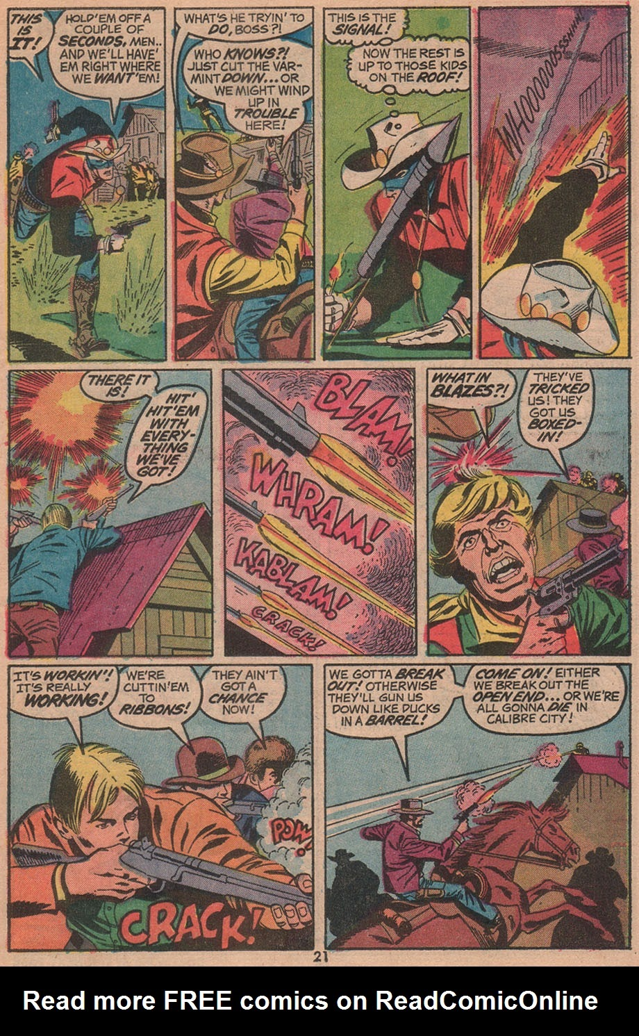 The Outlaw Kid (1970) issue 14 - Page 23
