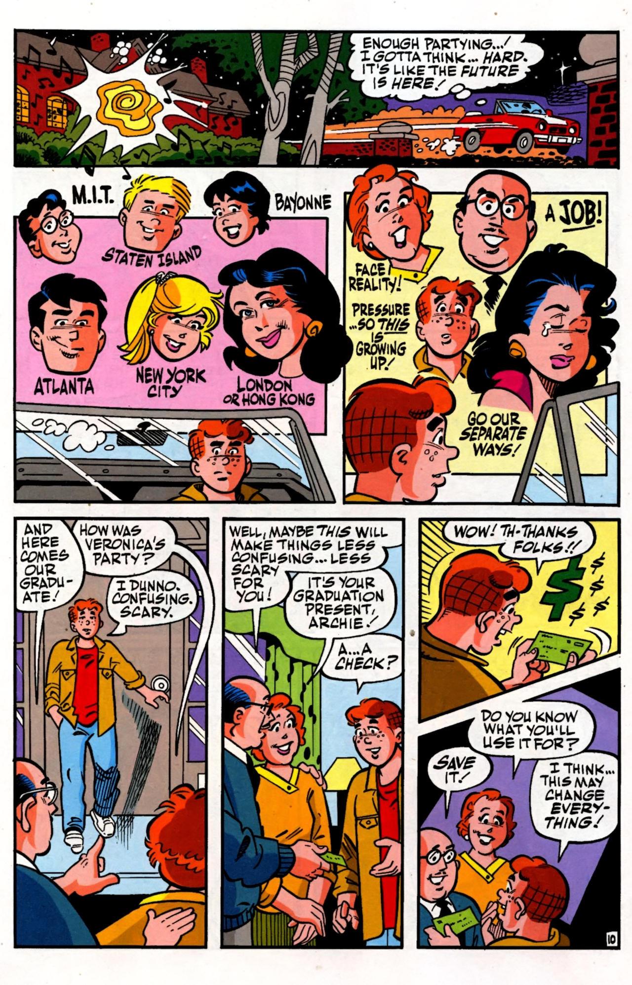 Read online Archie (1960) comic -  Issue #600 - 14