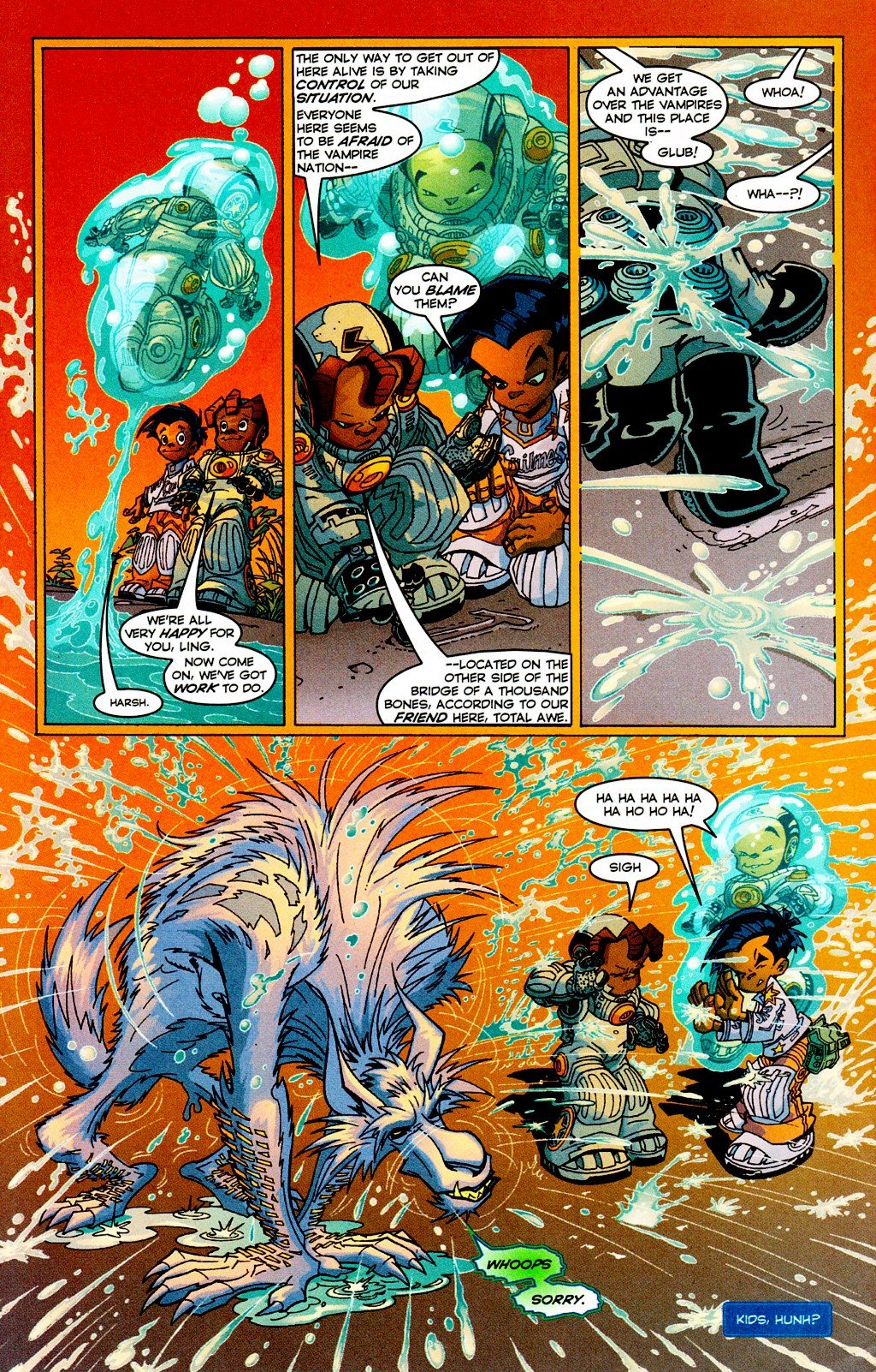Read online Monster World (Existed) comic -  Issue #3 - 19